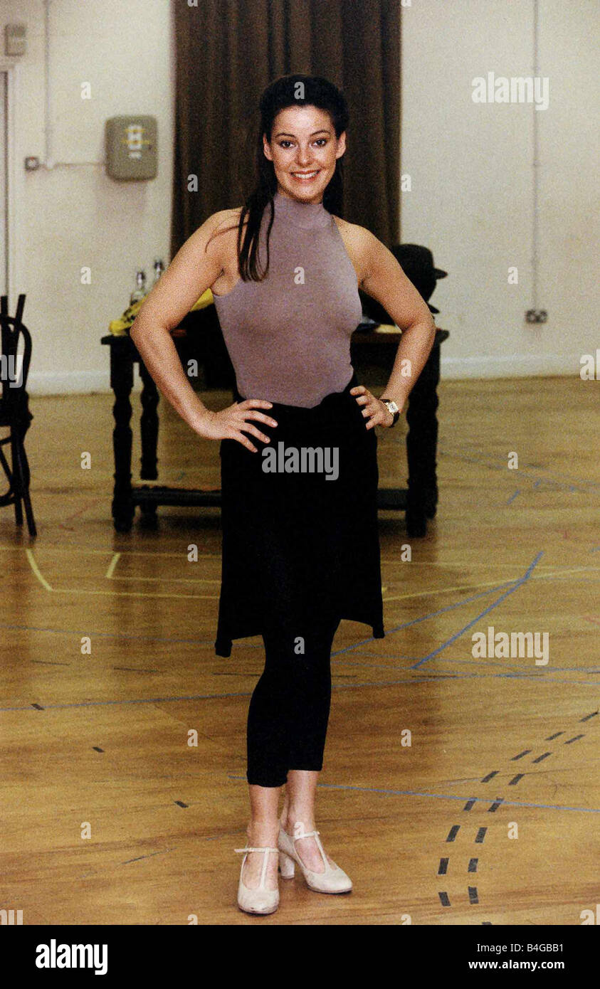 Heroines Dance Photos At Cinemaa Awards 2012: Ruthie Henshall Actress Dancing Ballet Stock Photo