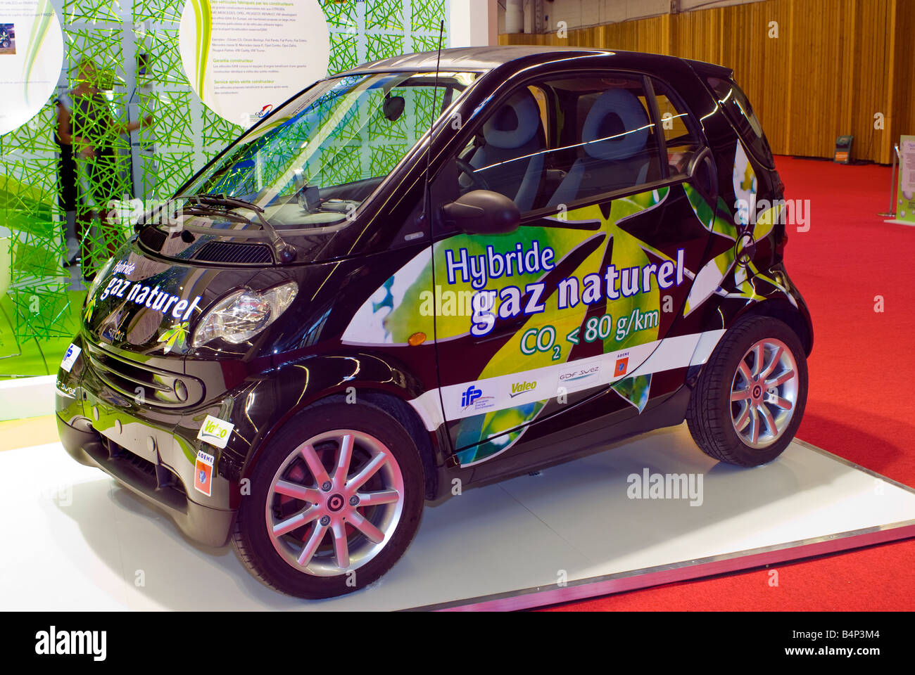 """Paris France, """"Paris Auto Show"""" """"Natural Gas Car"""" """"Smart"""