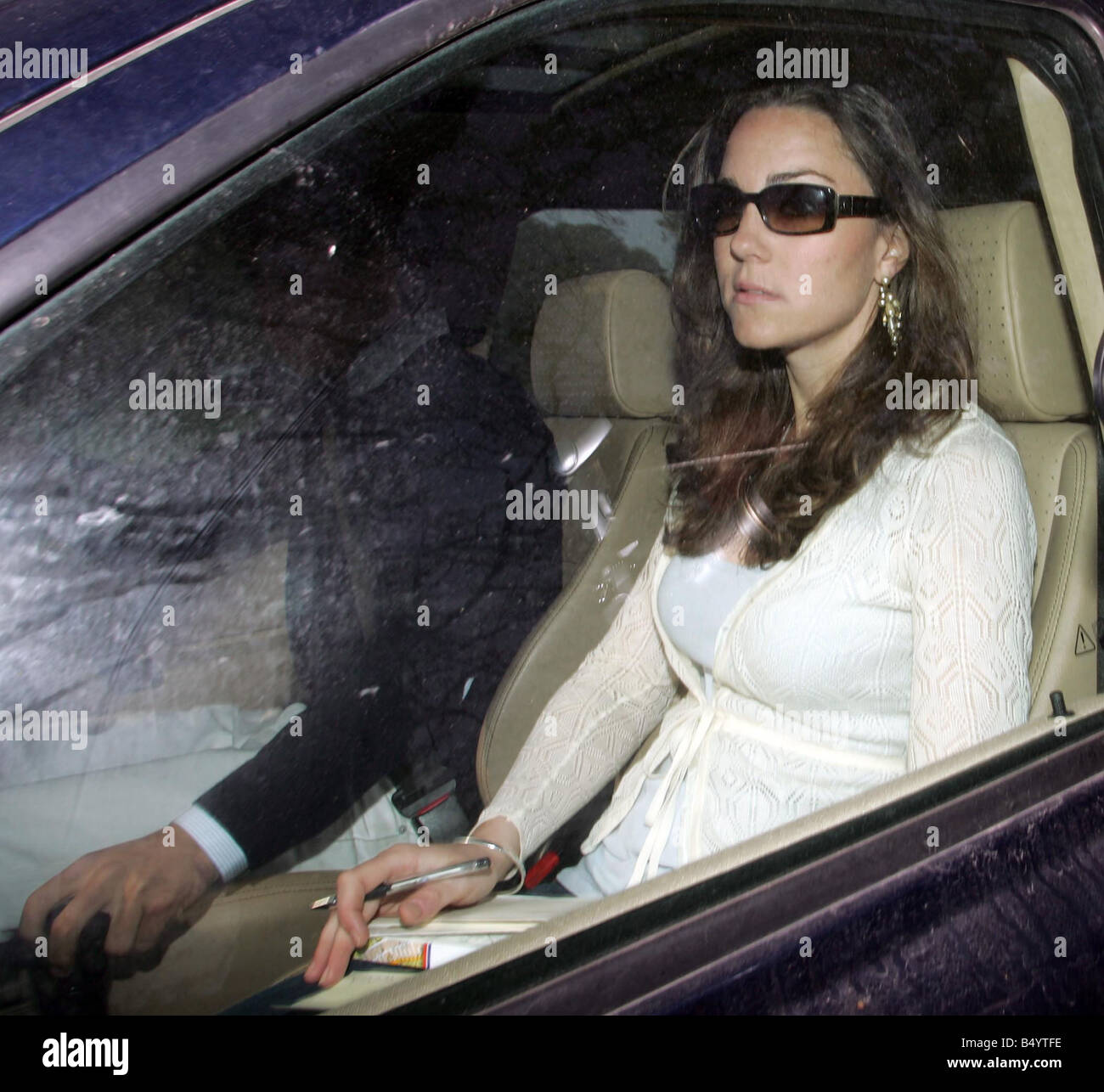 Kate Middleton Being Driven By Her Brother From Their