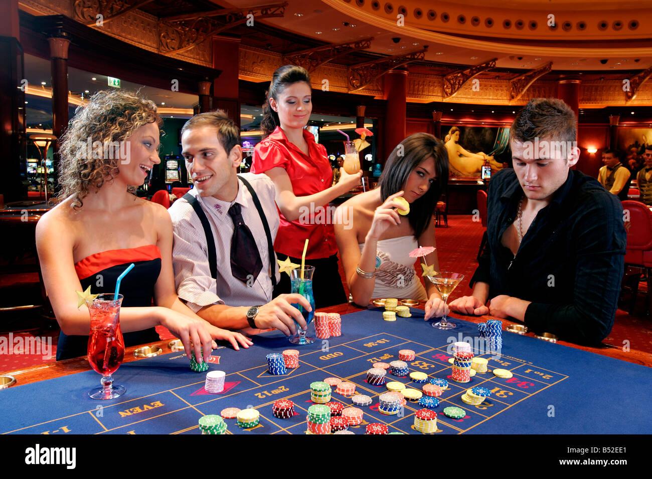 La roulette casino gain