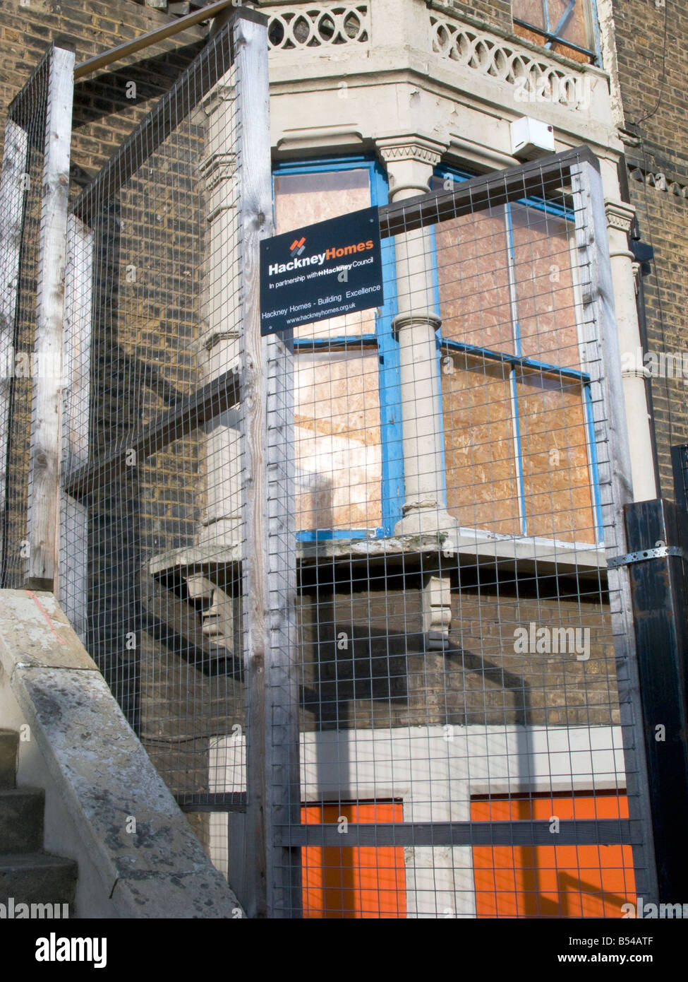 Uk Abandoned Derelict Council House In Hackney To Put For