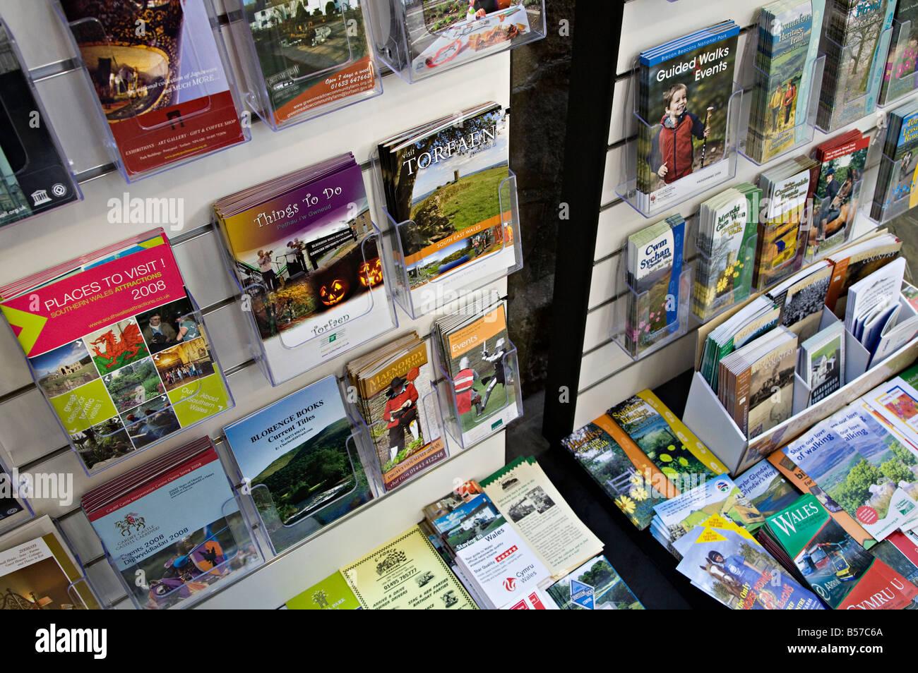 Tourist brochures and information leaflets at visitor - San francisco tourist information office ...