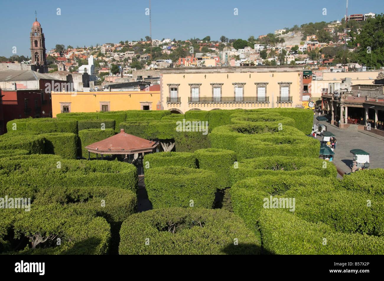 Jardin principal san miguel de allende san miguel for Jardin principal