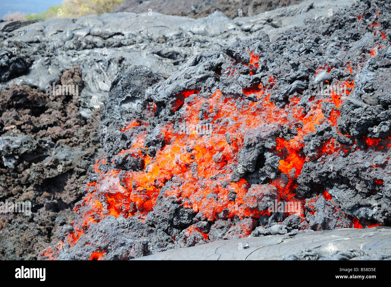 how to change the flow of lava