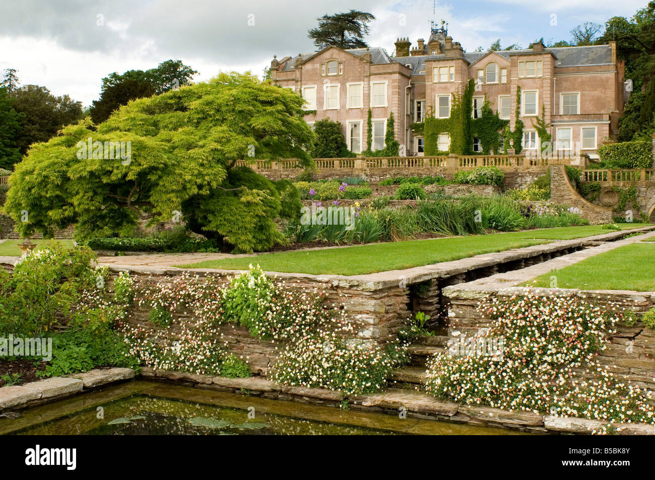 Hestercombe garden designed by gertrude jekyll and edwin lutyens stock photo royalty free for Gertrude jekyll gardens to visit