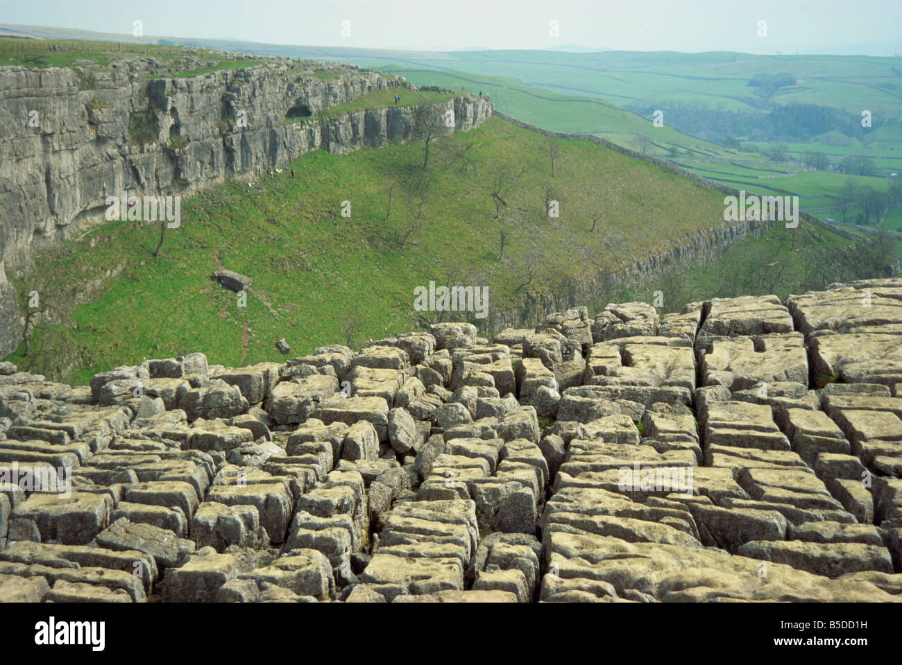 Malham United Kingdom  City pictures : Limestone Pavement Malham Cove Malham Yorkshire Dales National Park ...