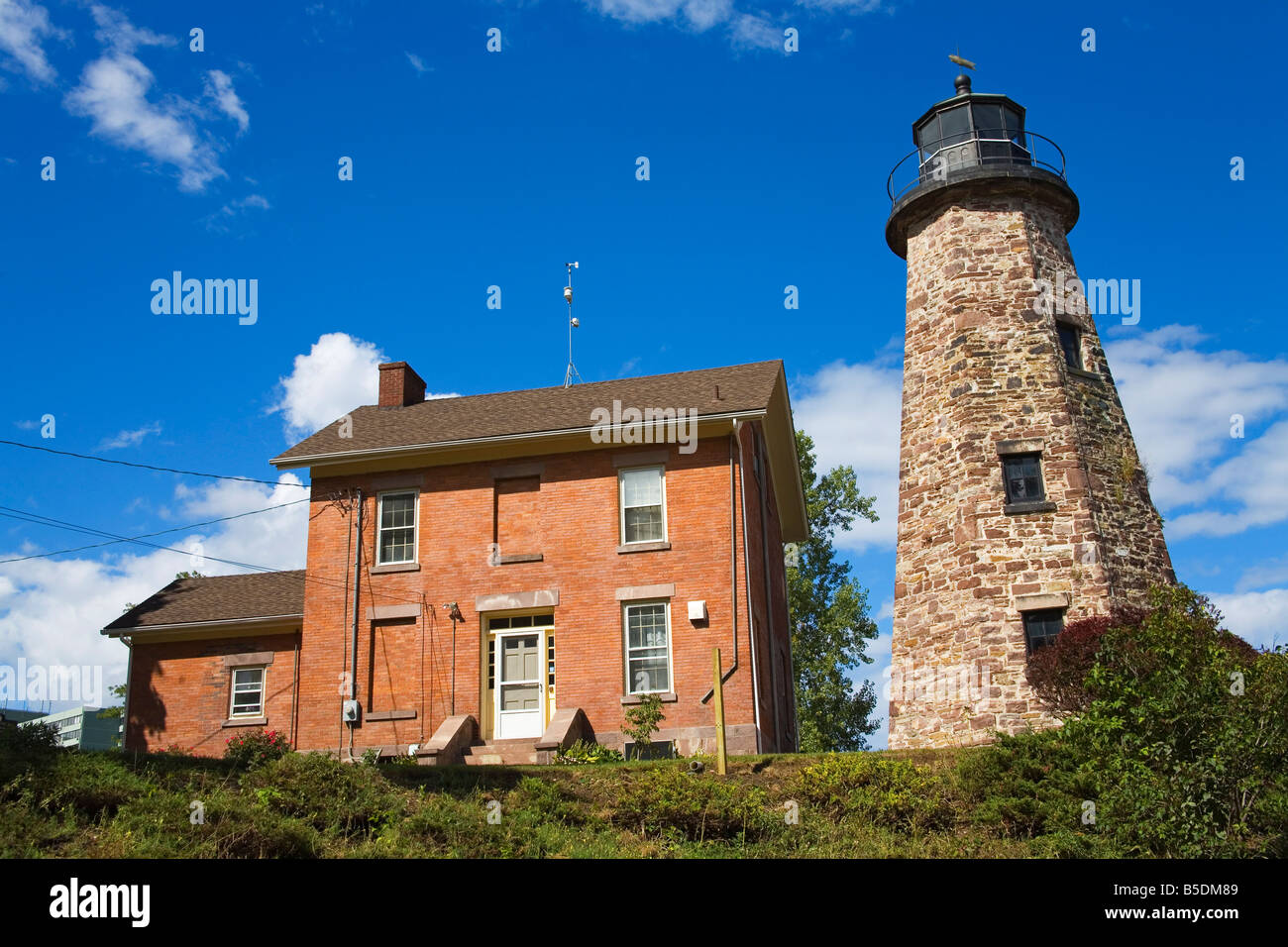 Charlotte Genesee Lighthouse: Charlotte-genesee Lighthouse Museum, Rochester, New York