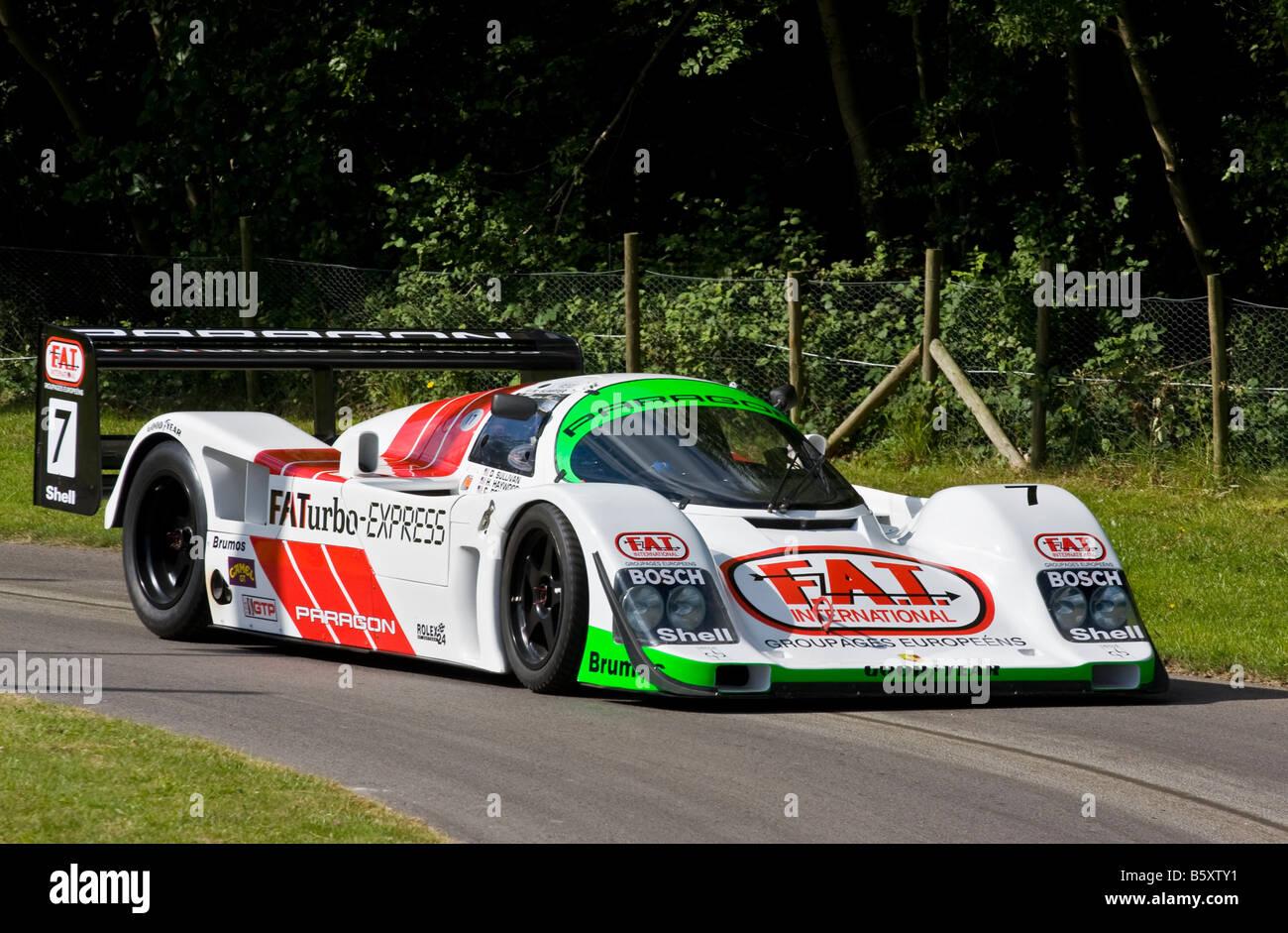 2008 Paragon Porsche 962 Le Mans Group C Racer With Driver
