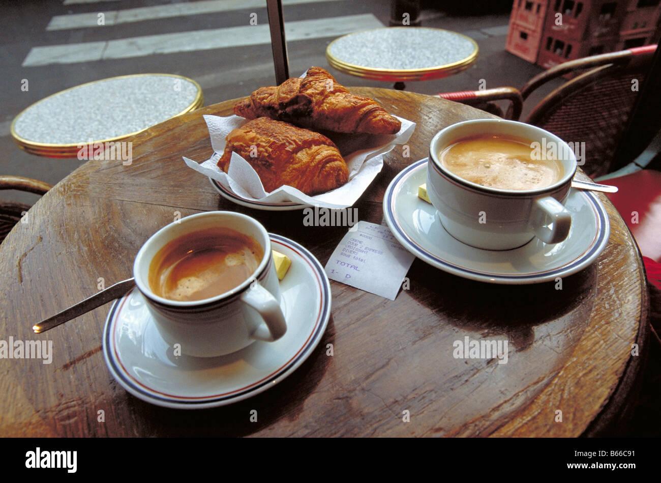 Paris Morning Cafe Bakery