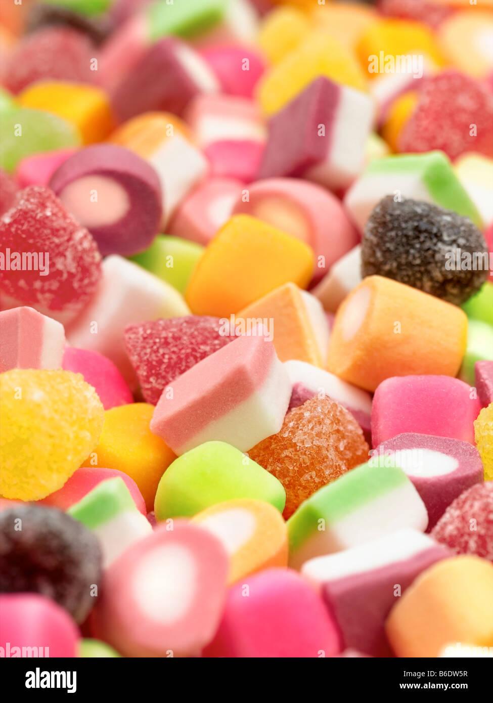 Dolly Mixtures Stock Photo