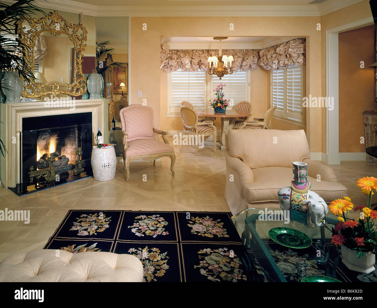 Beverly Hills Hotel Bungalow California Architectural Interior Stock Photo Royalty Free Image