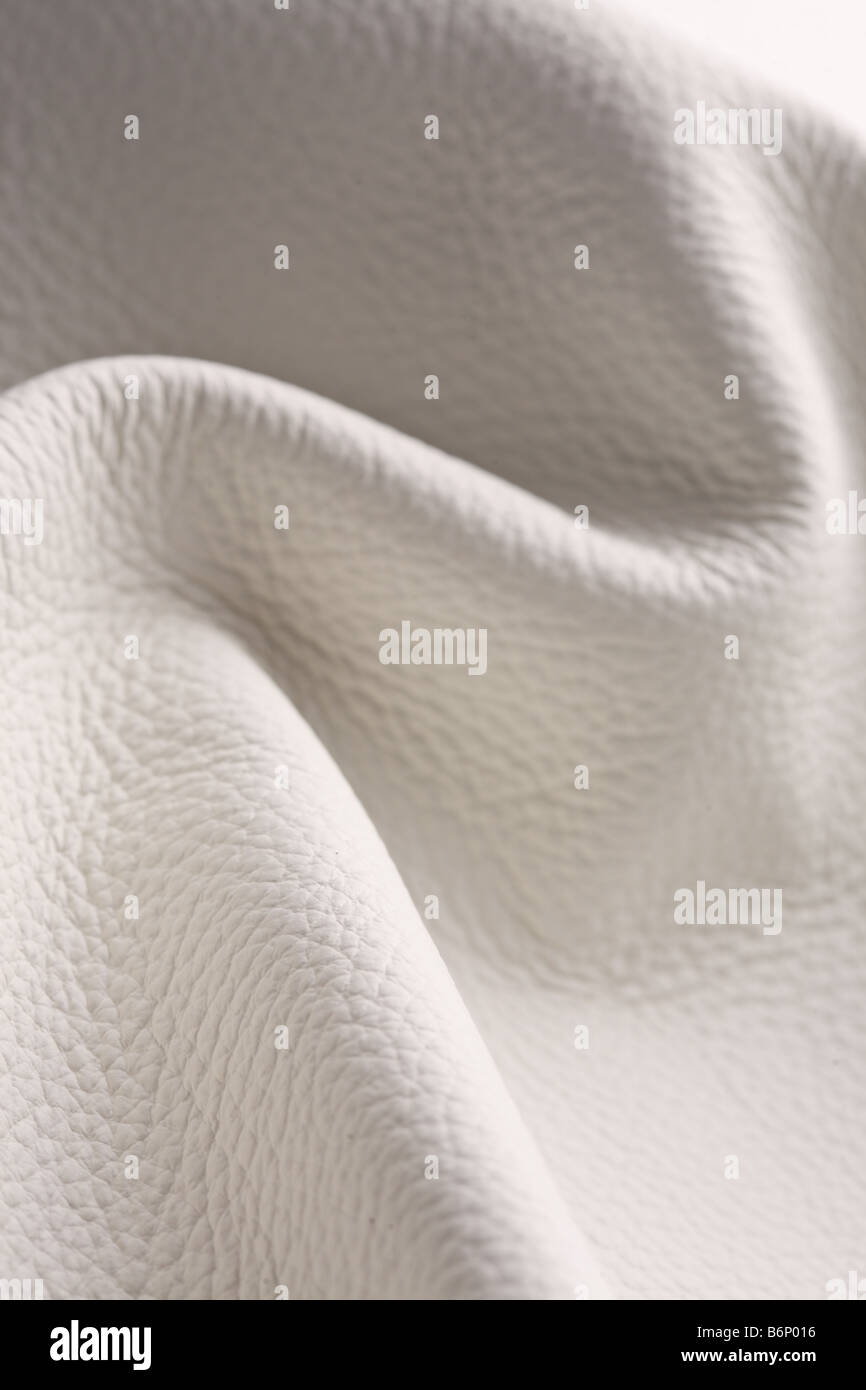 Wrinkled leather background Stock Photo