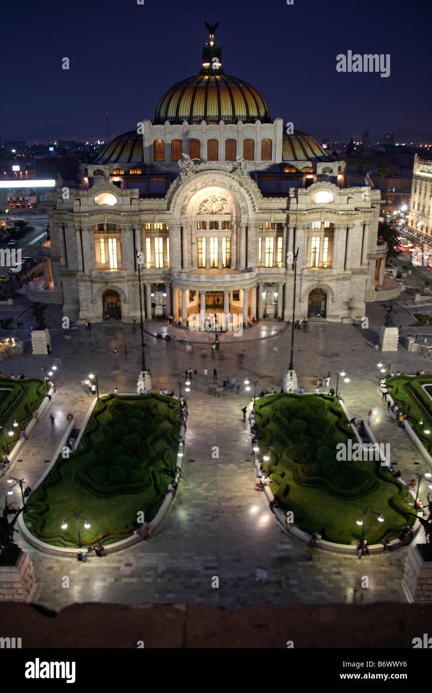 Mexico, Mexico City. Palacio De Bellas Artes ('Palace Of