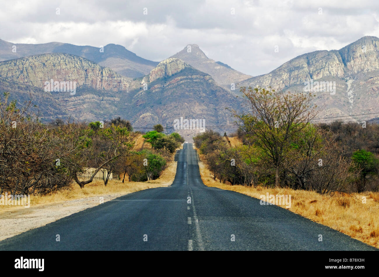 Country road in the small drakensberg mountains for Outdoor photo south africa