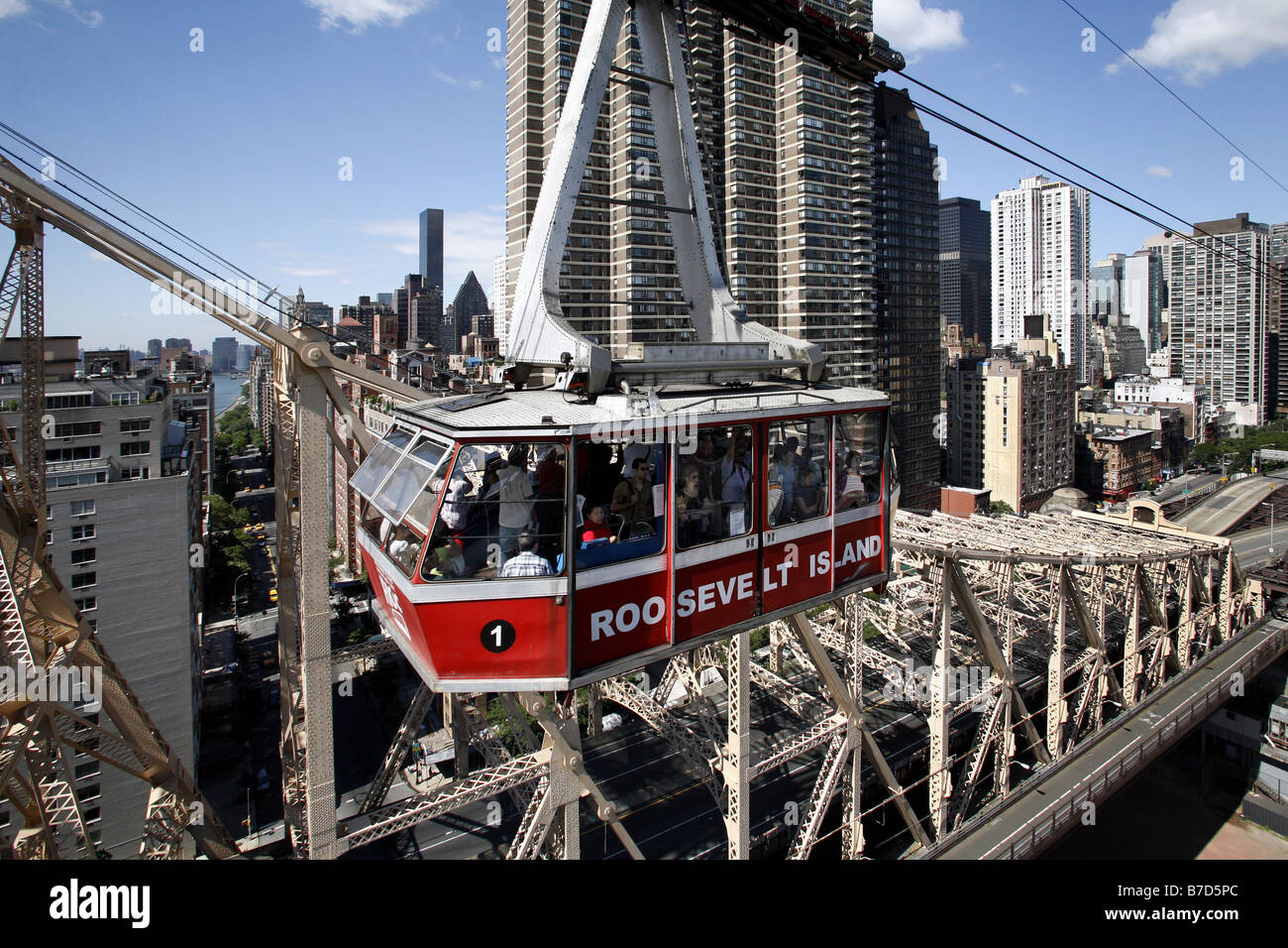 Roosevelt Island Cable Car New York City