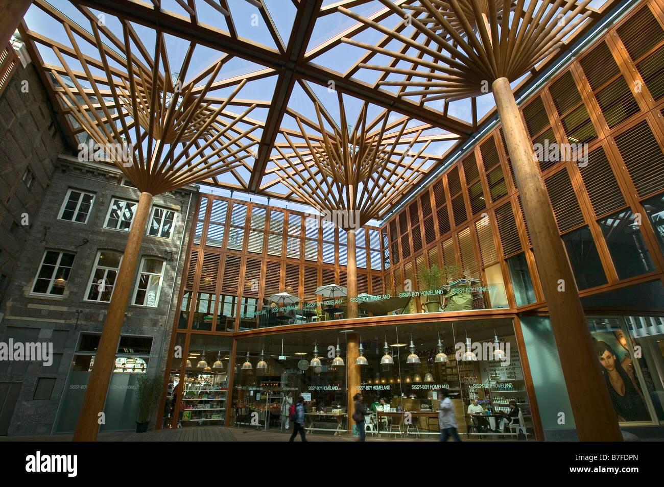Shopping center in maastricht netherlands europe stock - Maastricht mobel ...