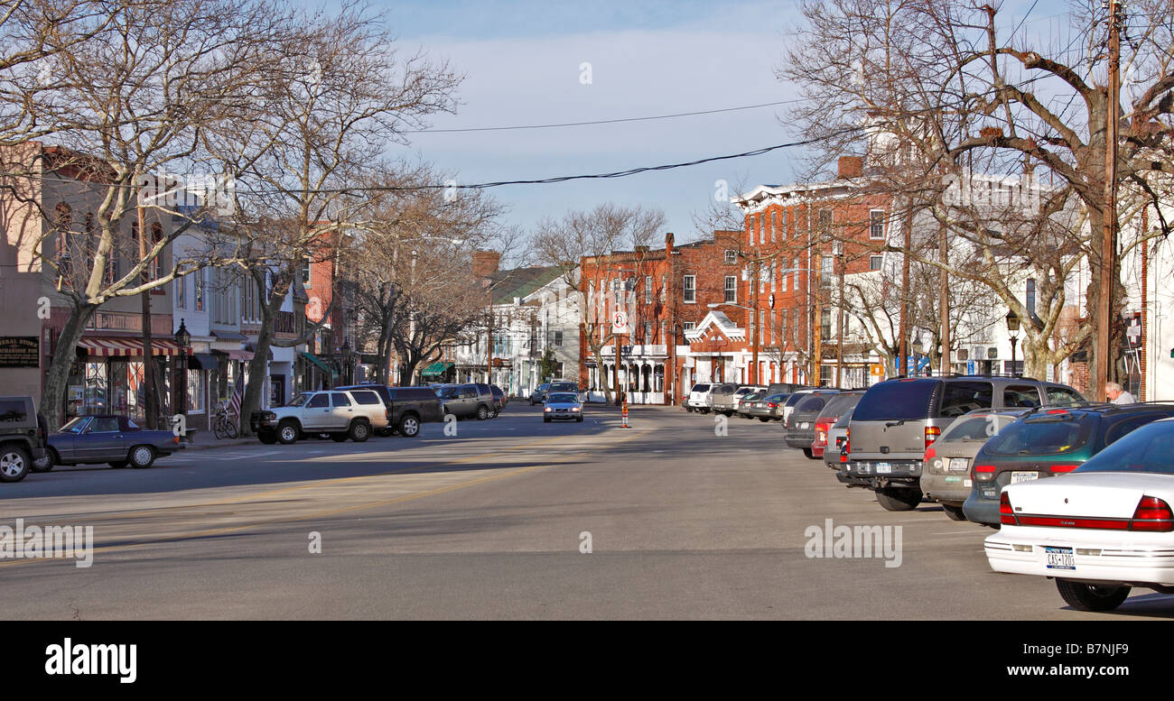 main street sag harbor long island new york stock photo royalty free image 21988493 alamy. Black Bedroom Furniture Sets. Home Design Ideas