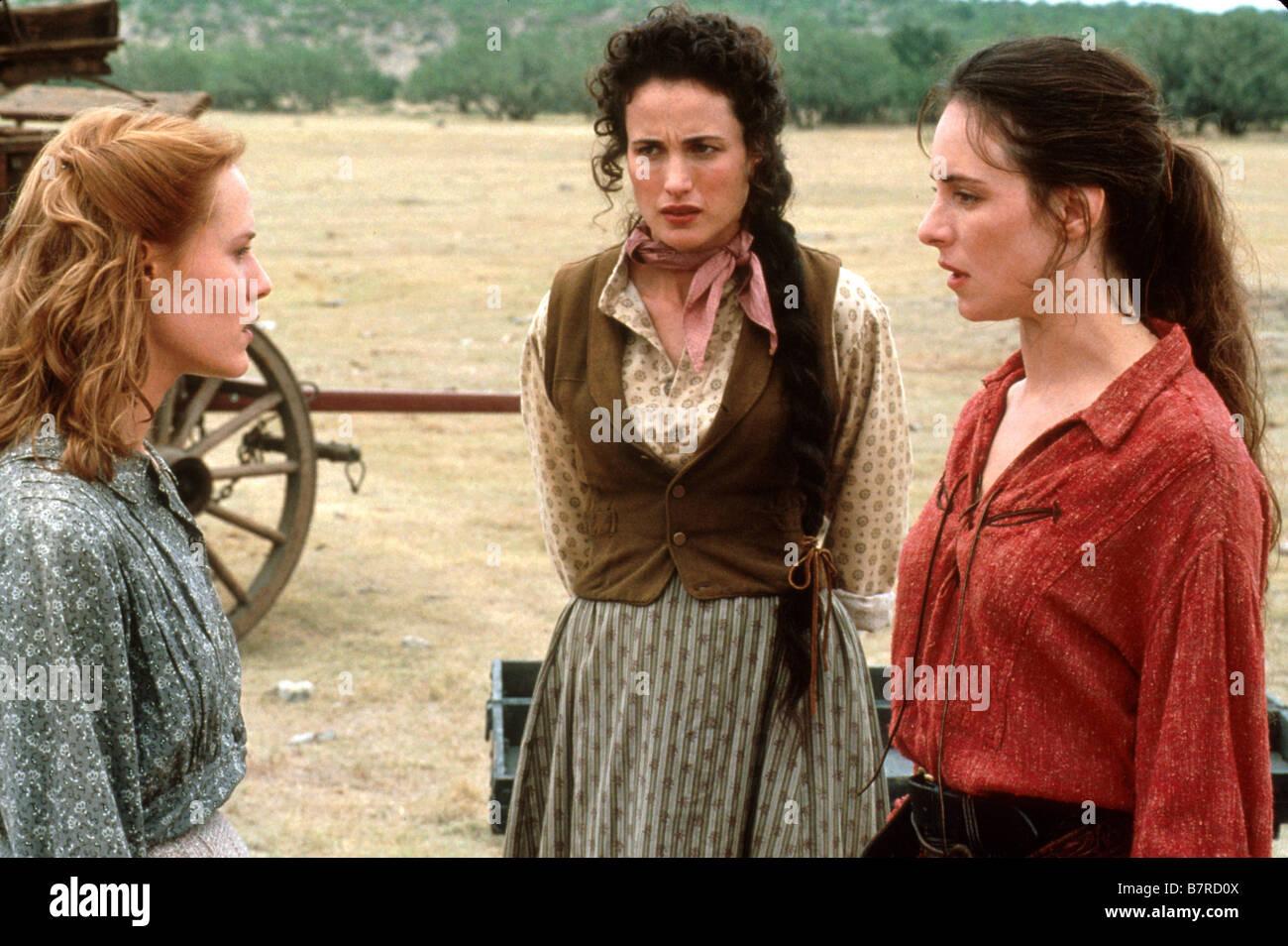 Les belles de l ouest Bad Girls Année 1994 usa Andie MacDowell Mary Stuart Masterson Madeleine Stowe Réalisateur Stock Photo