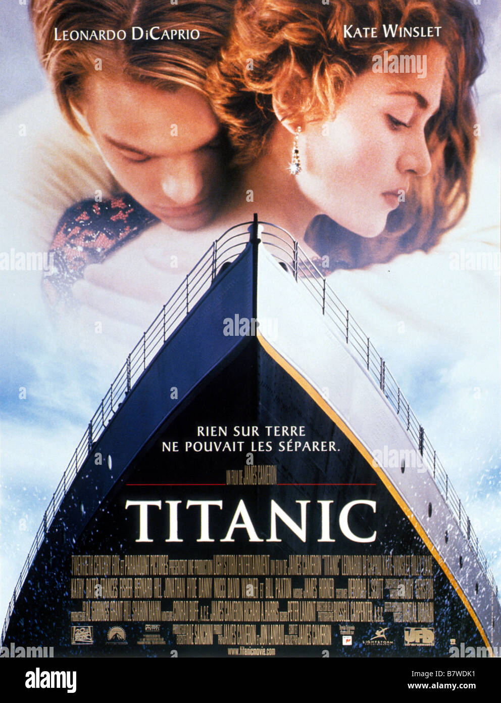 an analysis of the cover box image for the movie titanic by james cameron Commercial analysis before titanic ' s  titanic held the record for box office gross  james cameron's recreation of the 1912 sinking of the 'unsinkable' liner.