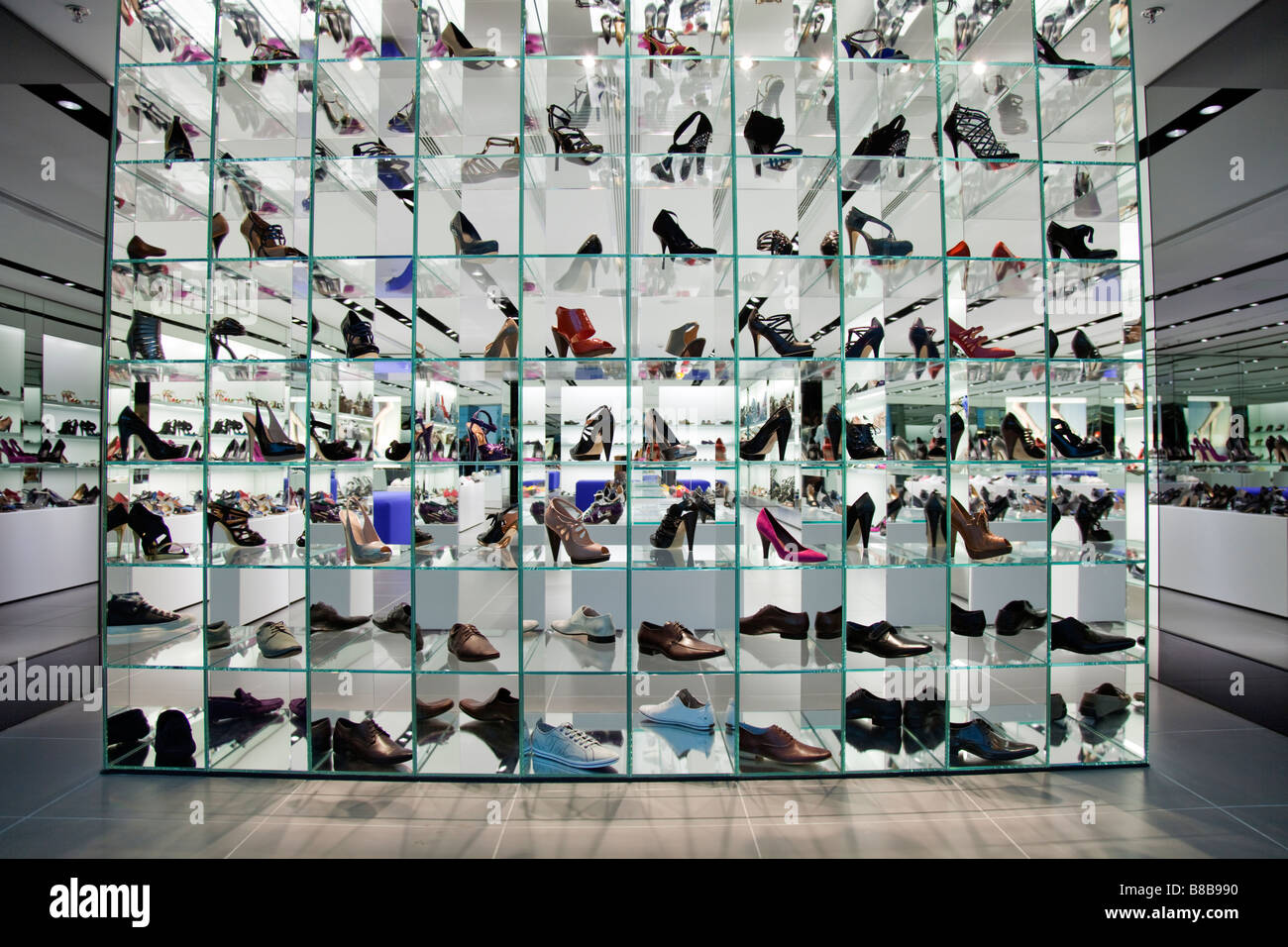 Shoe Store Display Windows
