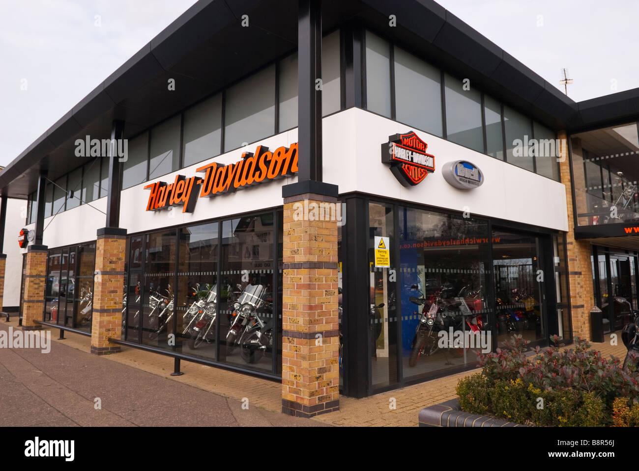 Harley Davidson Motor Cycles Motorbike Shop Store Selling