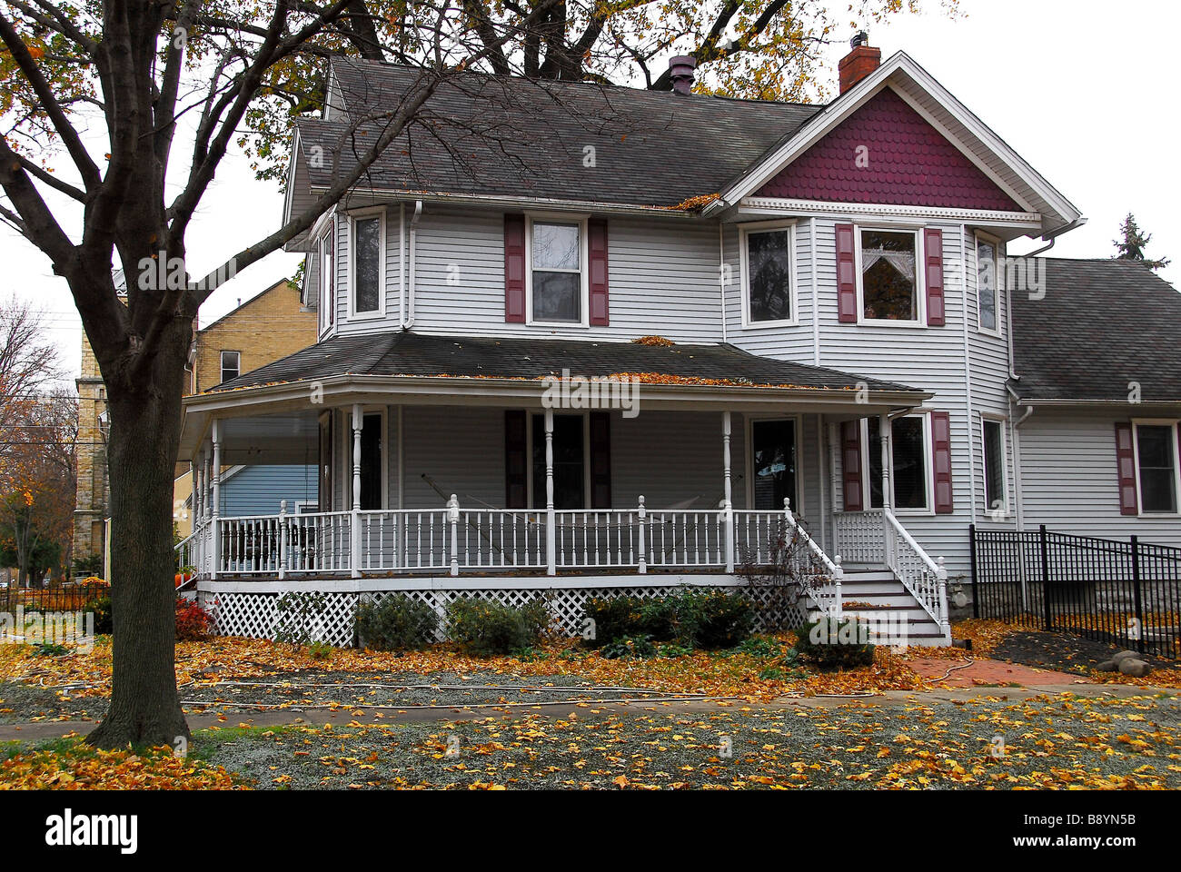 Typical american house sheridan illinois united states for The american house