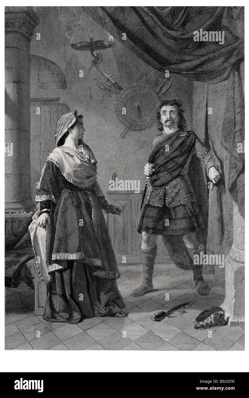 An account of the nature of macbeths tragedy in macbeth by william shakespeare
