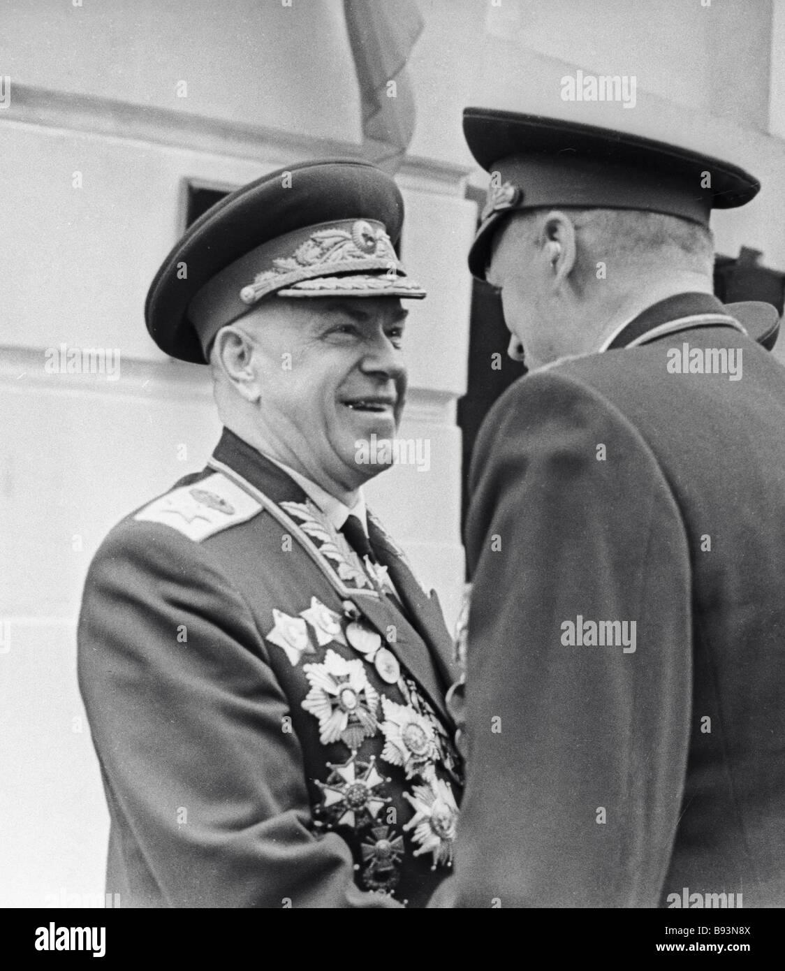 Marshal of the Soviet ...