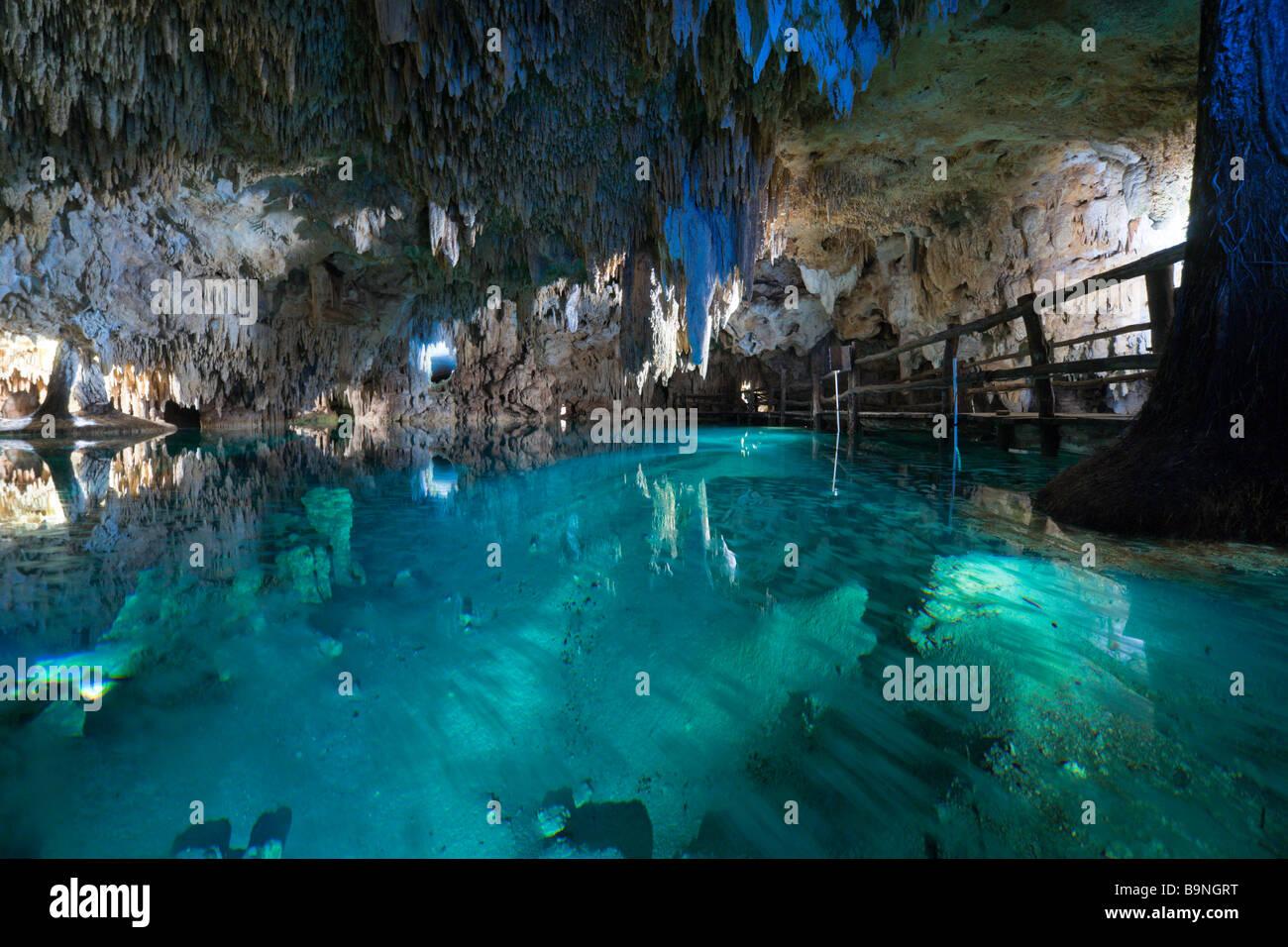 Tulum underground caves