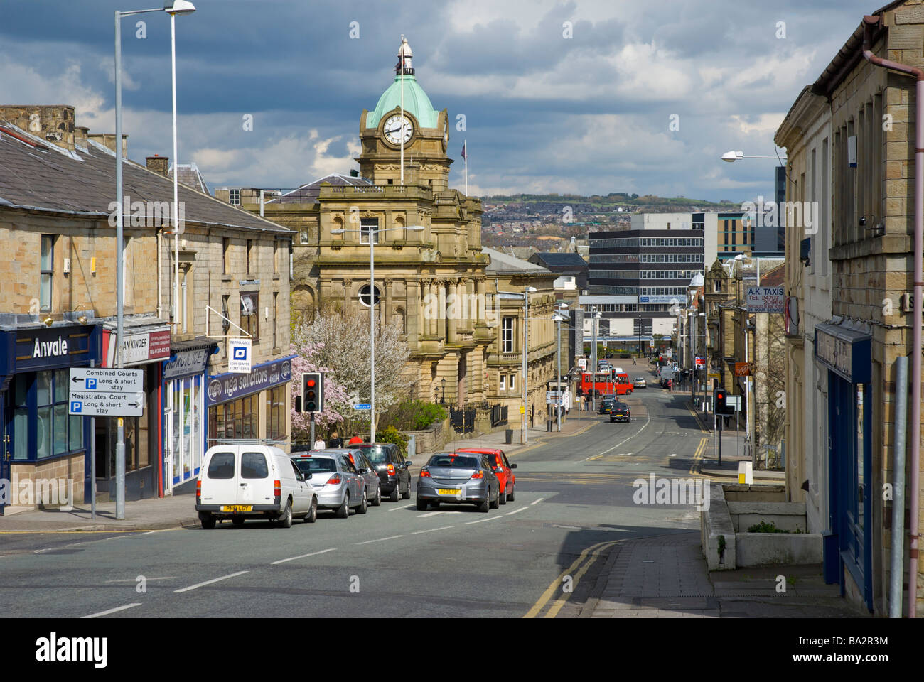 The Town Hall on Manchester Road, Burnley, Lancashire ...