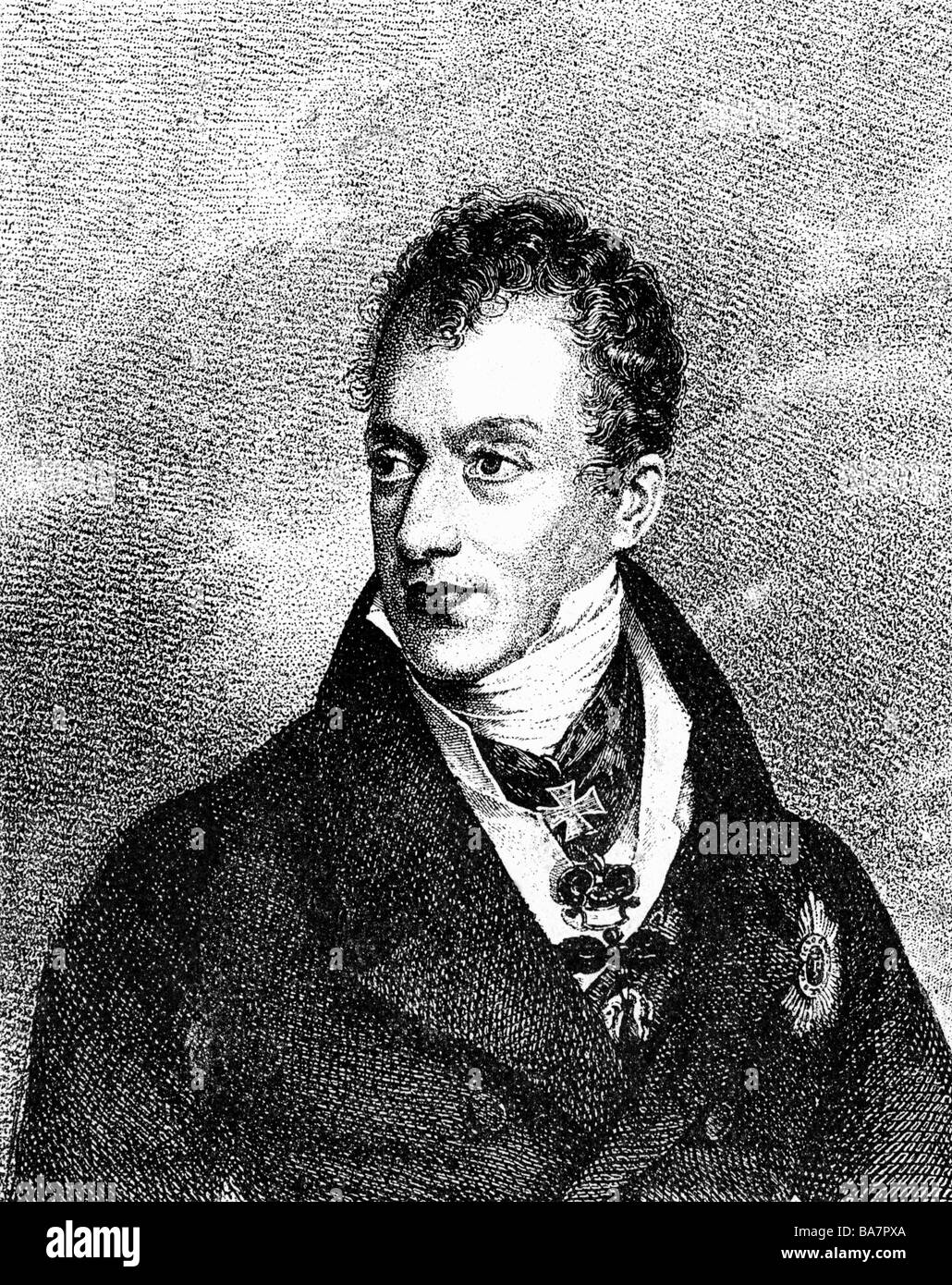 the ideology and role in history of prince klemens von metternich