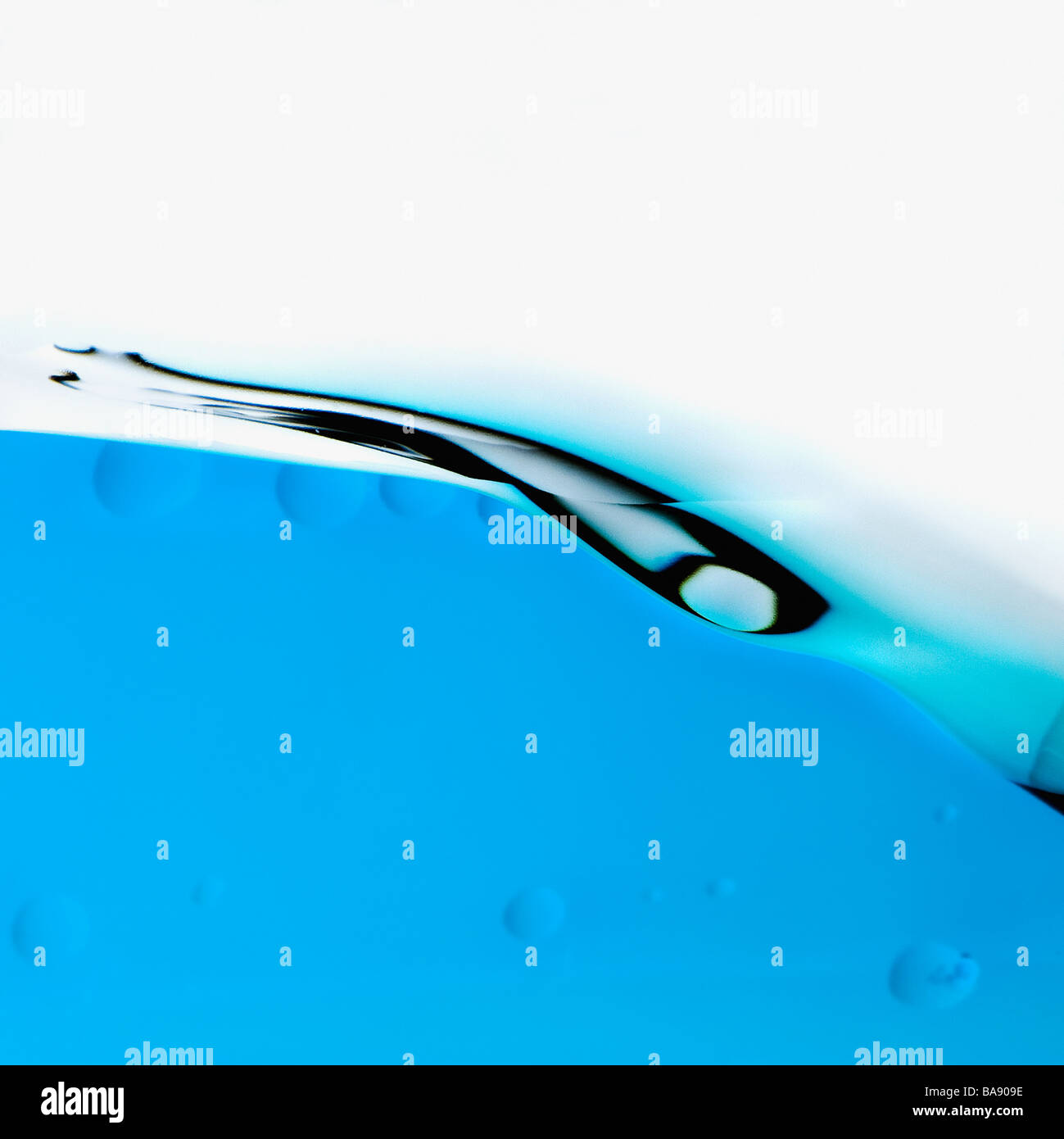 Abstract blue wave Stock Foto