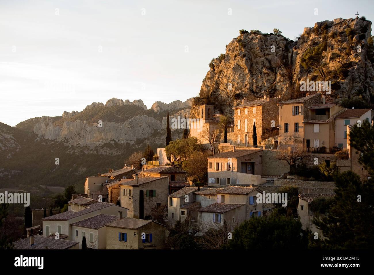 France Vaucluse La Roque Alric And The Dentelles De