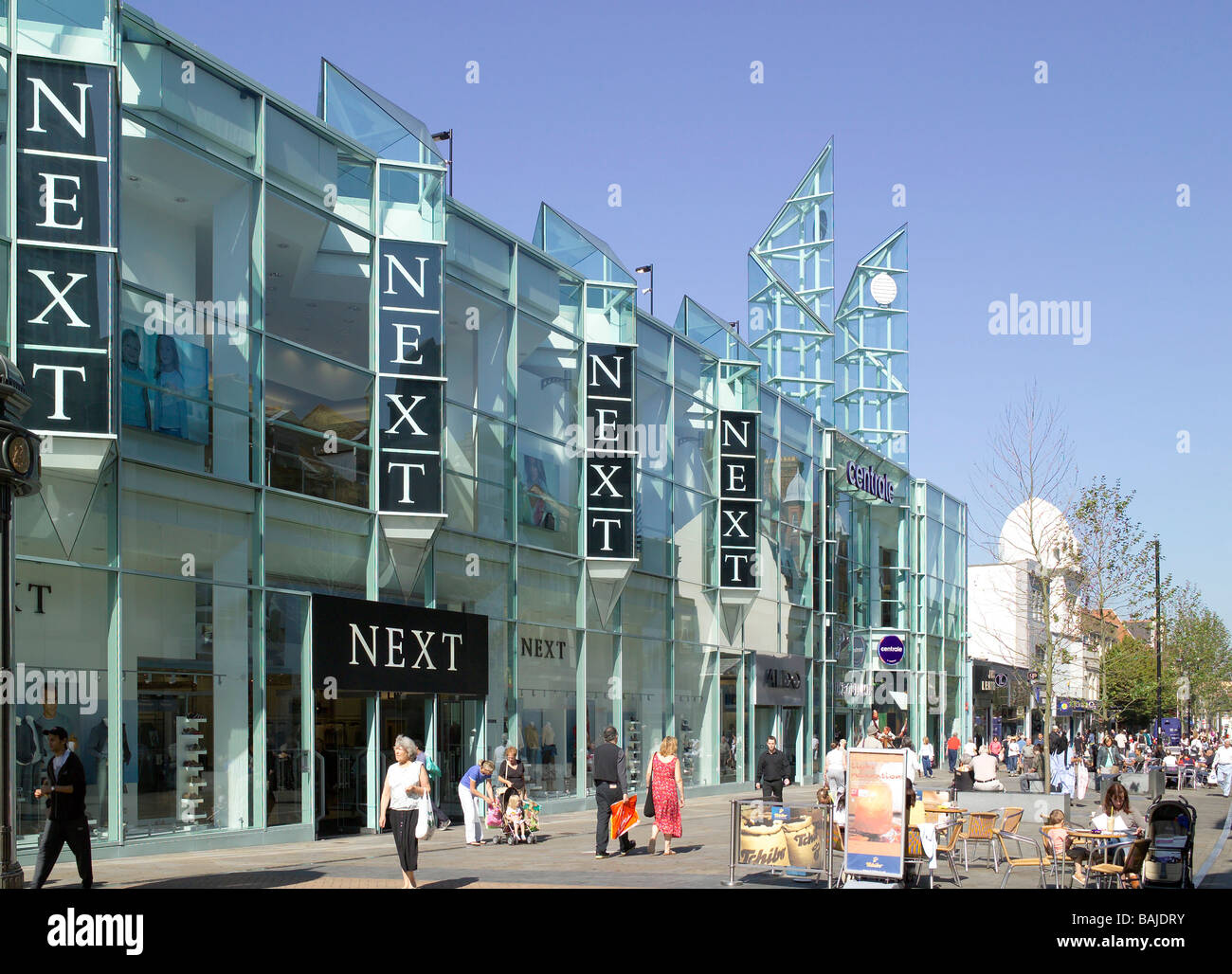 centrale shopping centre john clark associates croydon united stock photo royalty free image. Black Bedroom Furniture Sets. Home Design Ideas