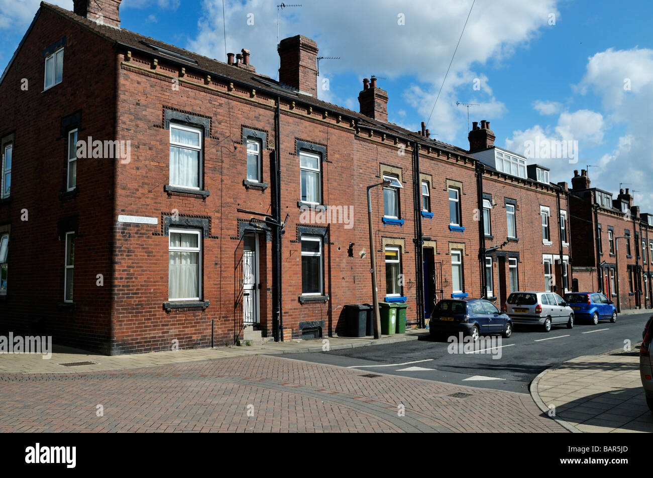 Yorkshire Terrace: Victorian Red Brick Back To Back Working Class Terrace