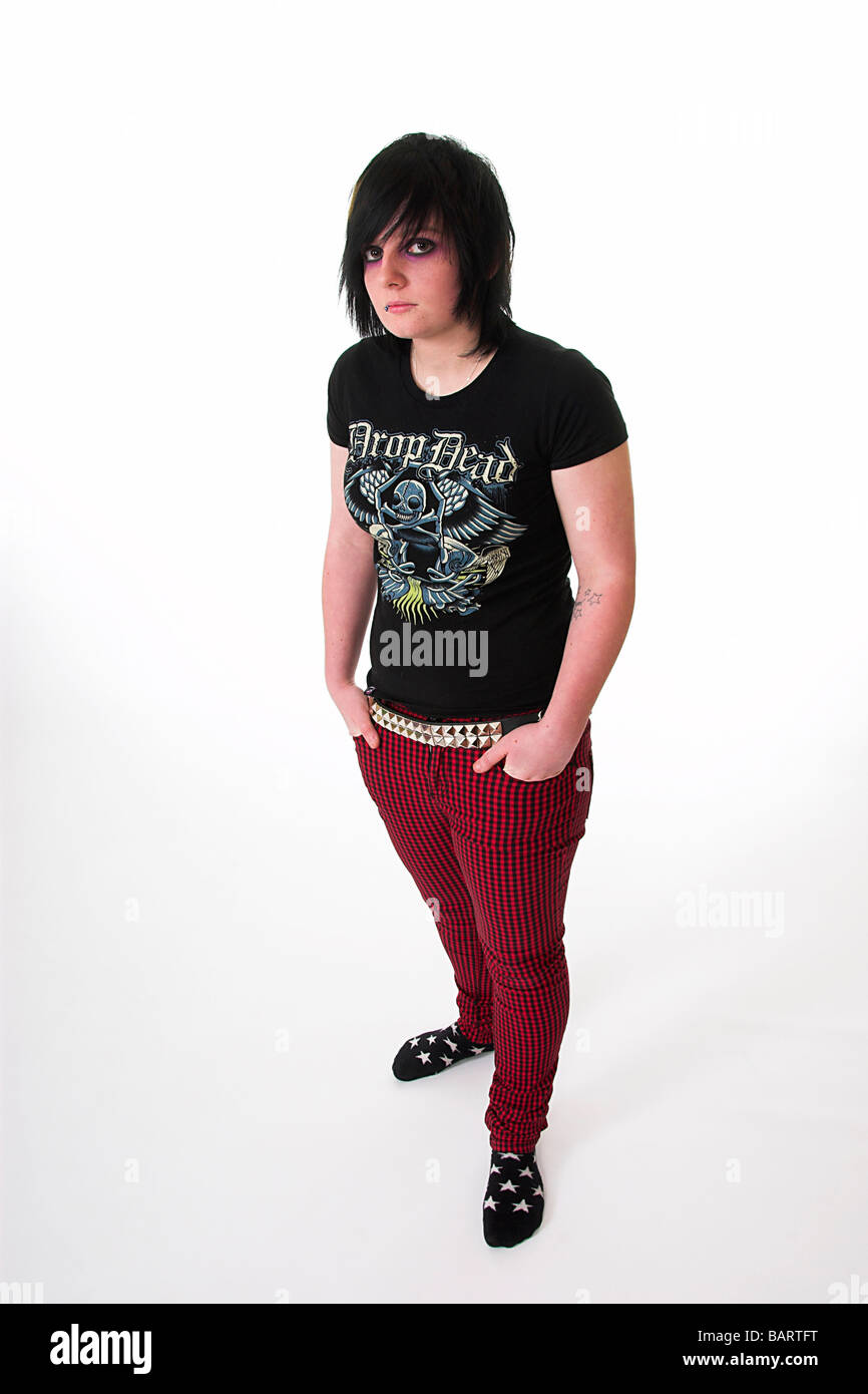 Teen Girl Emo Fashion