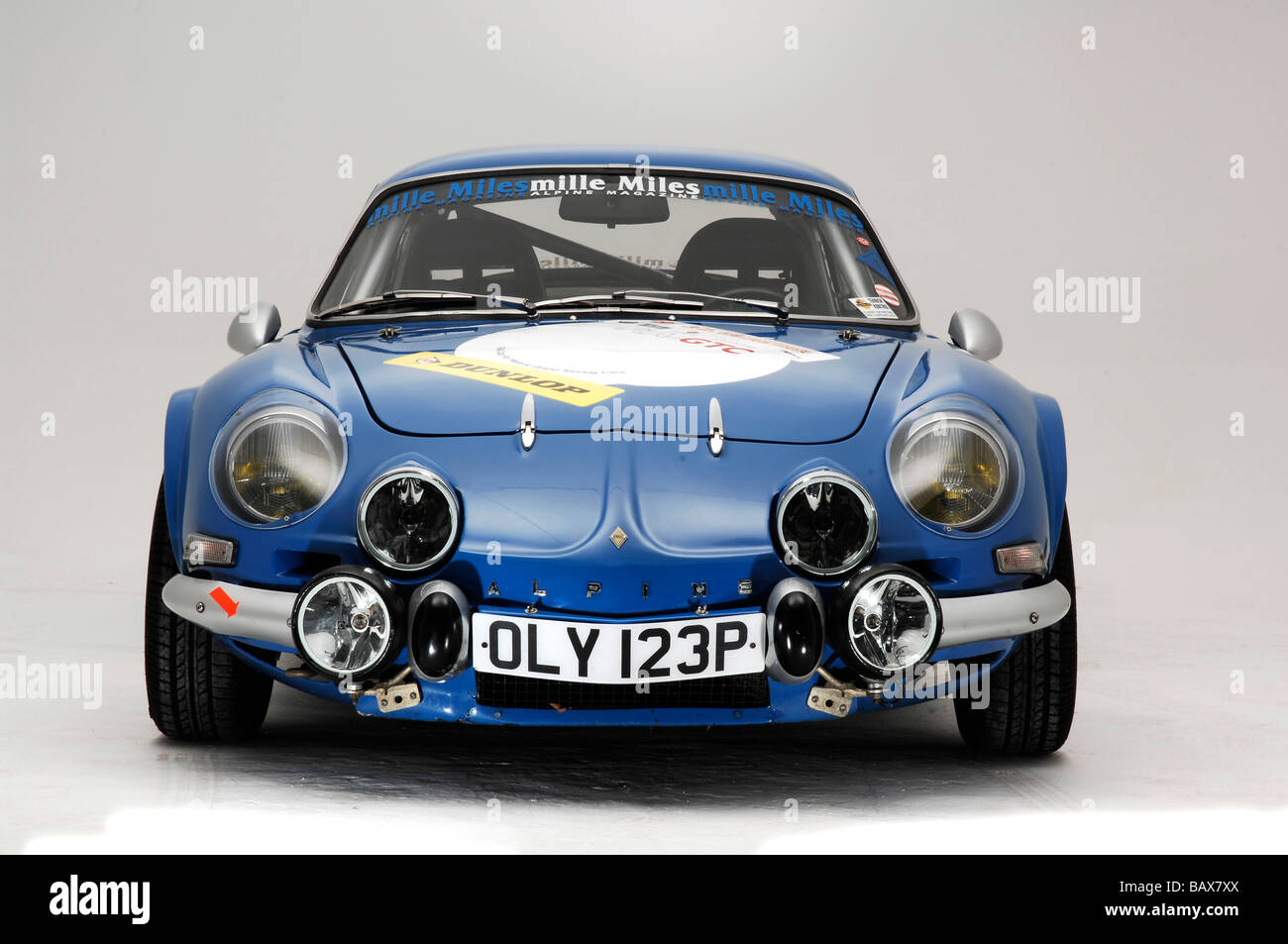 alpine renault a110 berlinette 1974 stock photo royalty free image 23933922 alamy. Black Bedroom Furniture Sets. Home Design Ideas