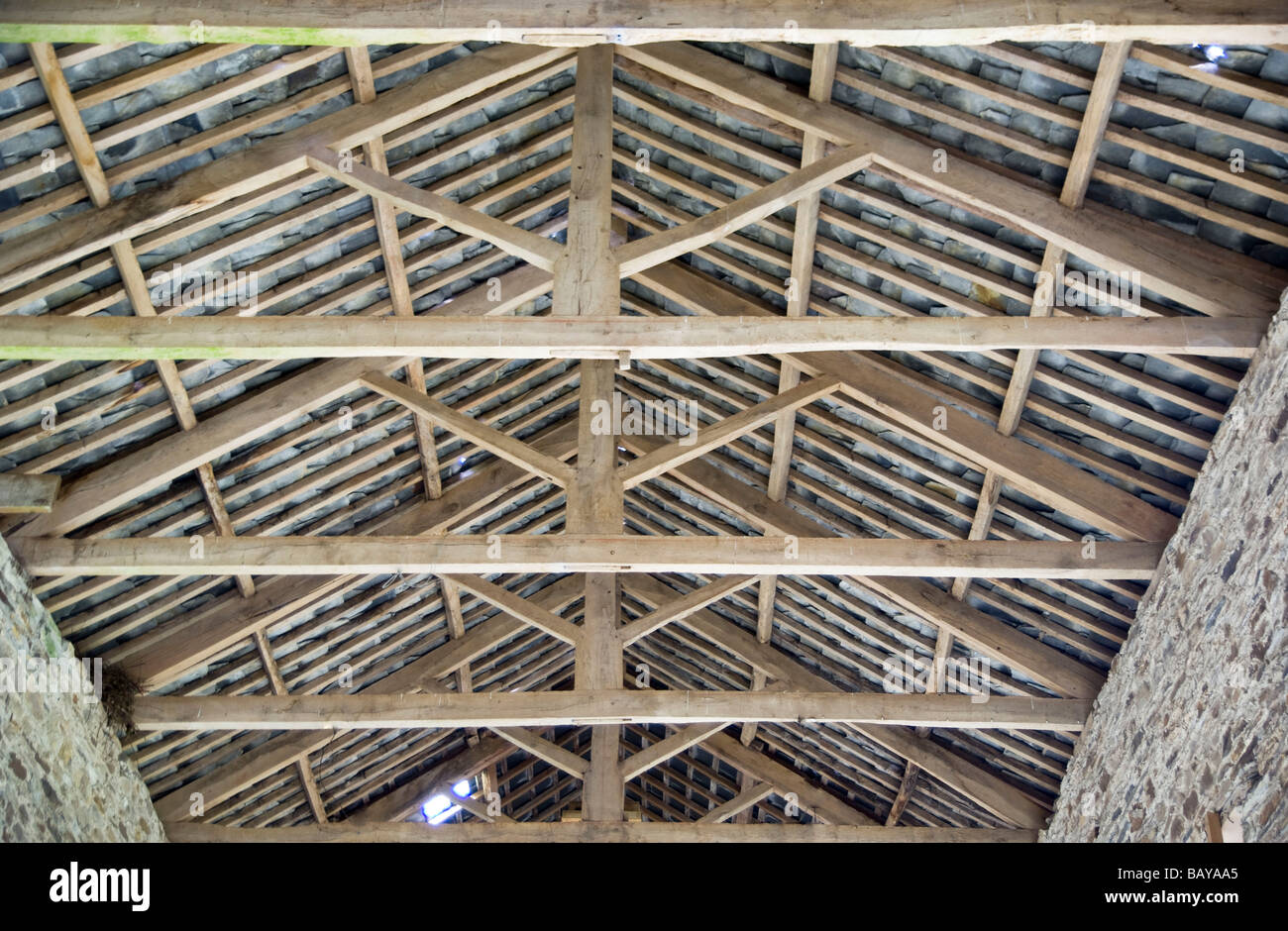 Traditional hand made timber roof trusses with mortice and for Buy roof trusses