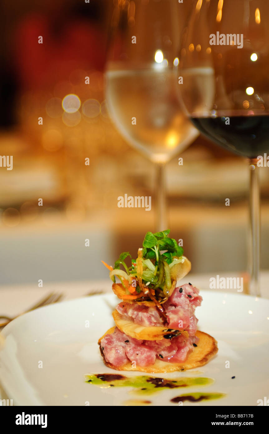Cuisine at temptation restaurant st martin st maarten stock photo 24126239 alamy - Stock cuisine saint priest ...