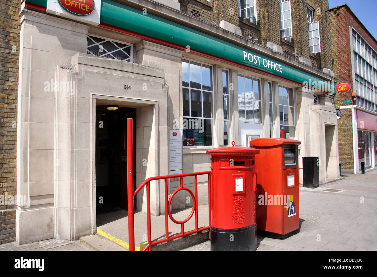 Post office high street orpington london borough of bromley stock photo royalty free image - Great britain post office ...