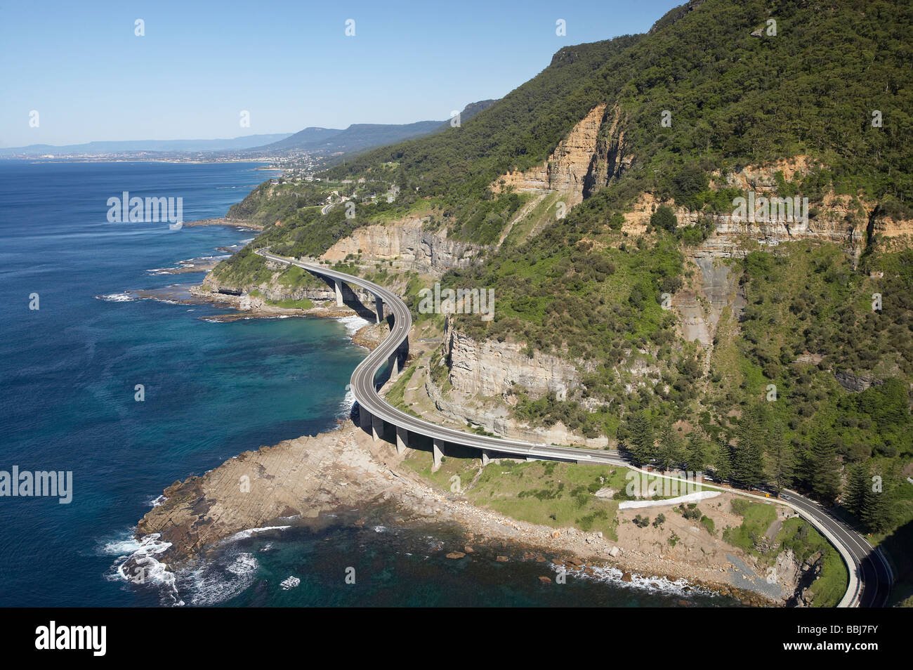 Sea Cliff Bridge Near Wollongong South Of Sydney New South Wales Stock Photo Royalty Free Image