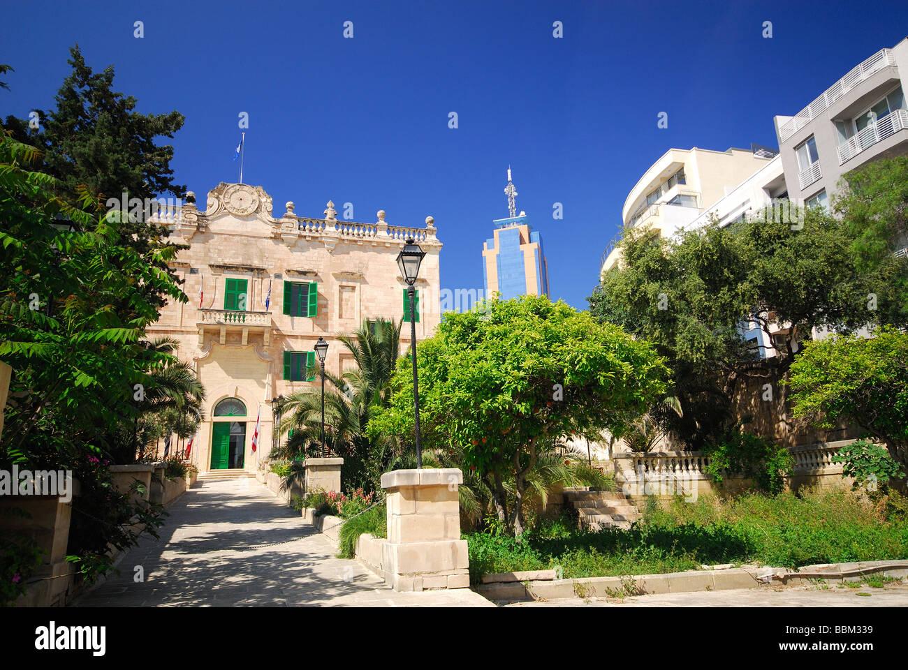 Malta The Gardens At Villa Spinola In St Julian 39 S With