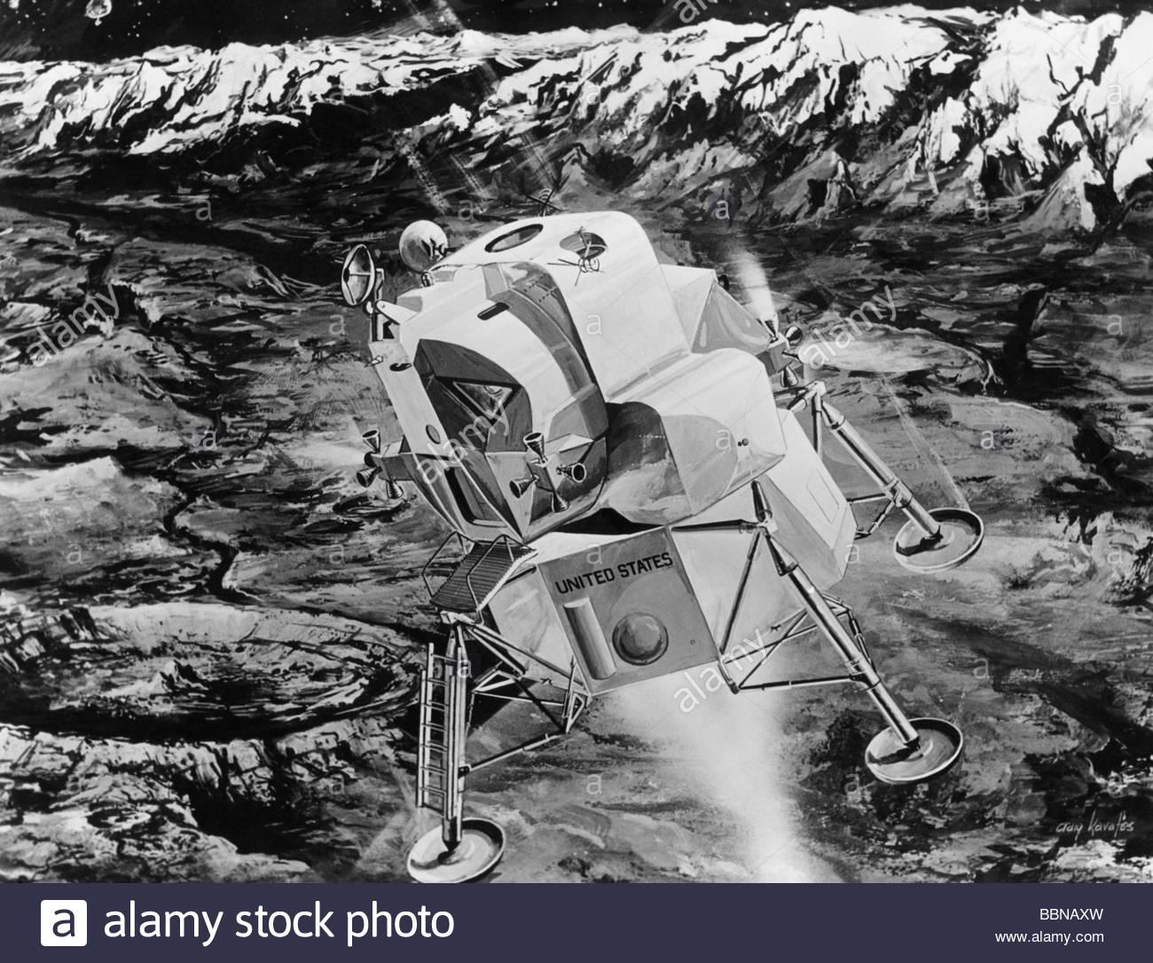 drawing apollo 11 moon lander - photo #13