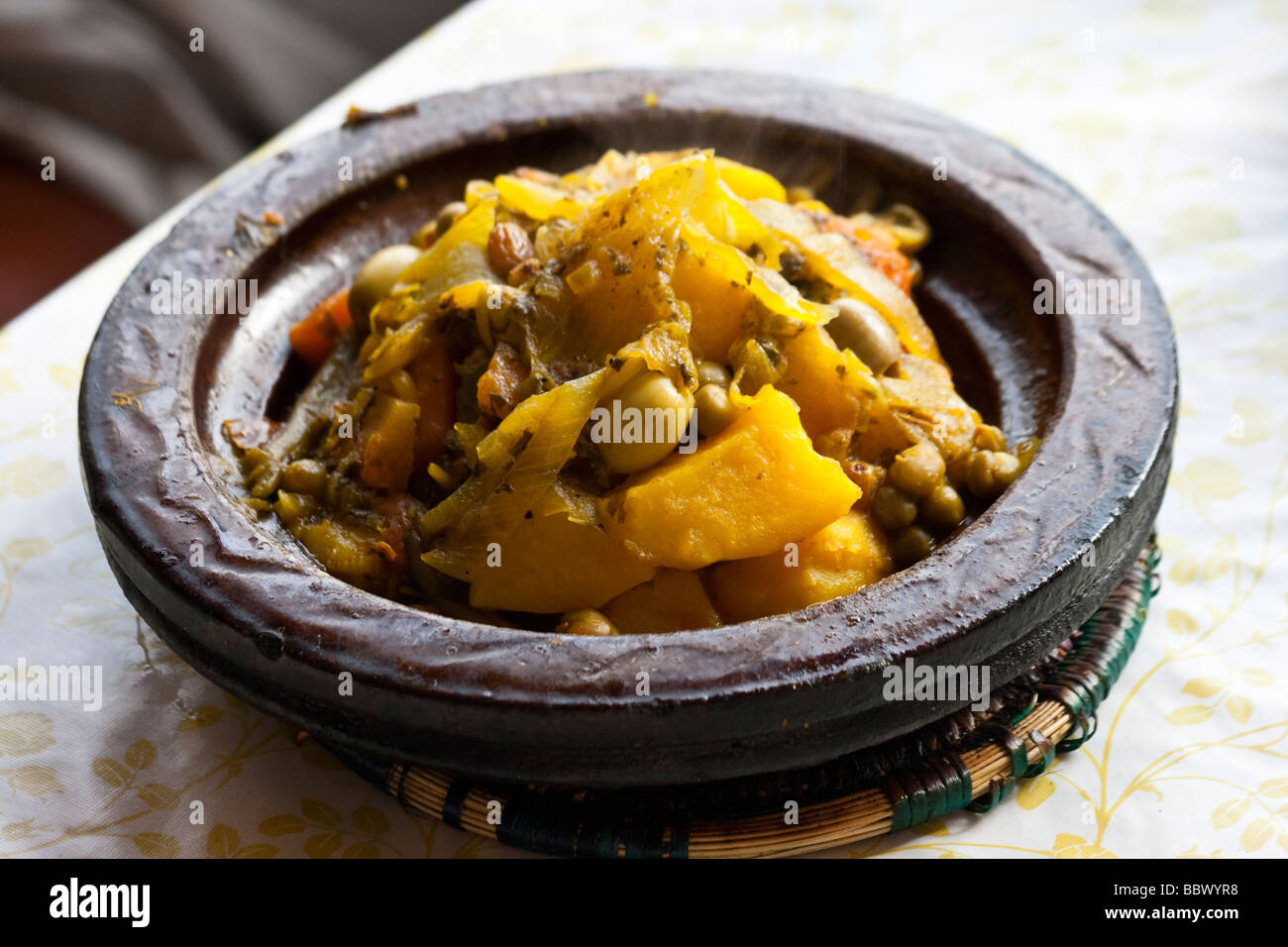 Tagine in Rabat Morocco Stock Foto