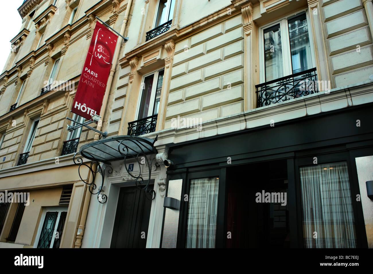 Paris france contemporary boutique hotel exterior the for Modern hotel paris