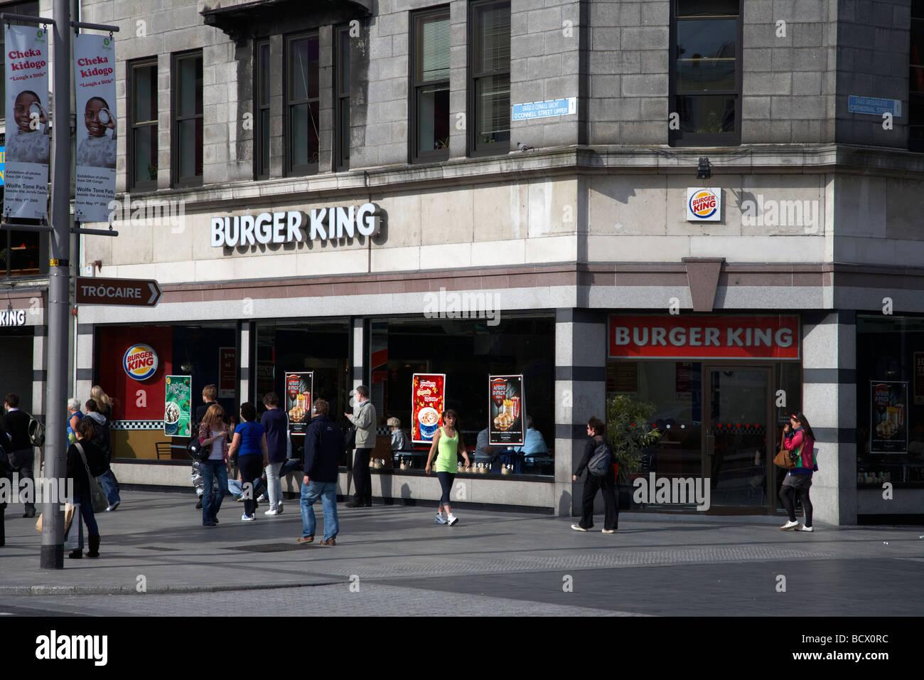 Fast Food Dublin Airport