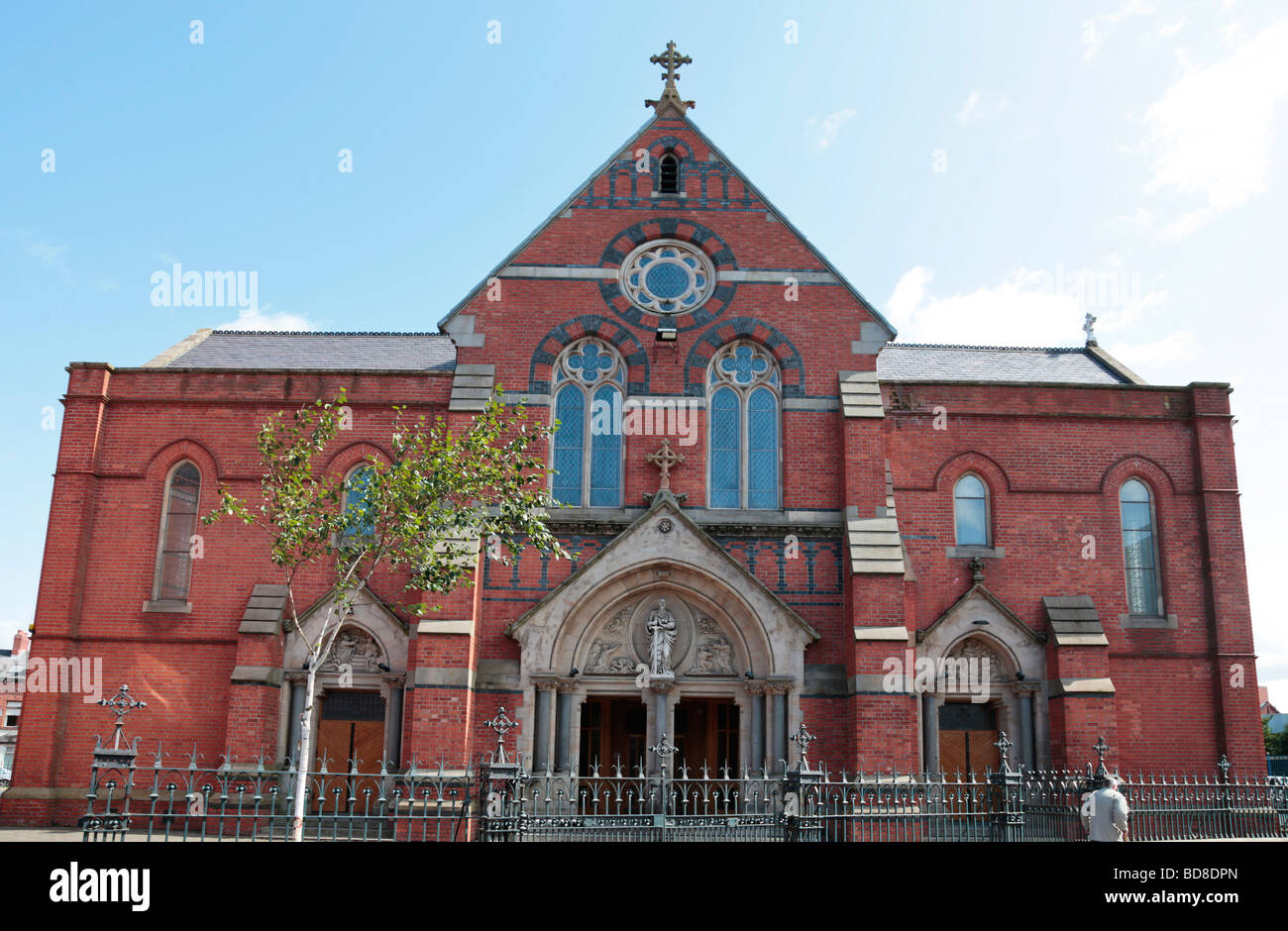 Facade of St Paul's Roman Catholic Church, Falls Road ...