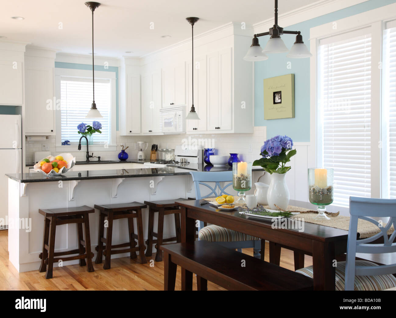 Hydrangea Kitchen Decor