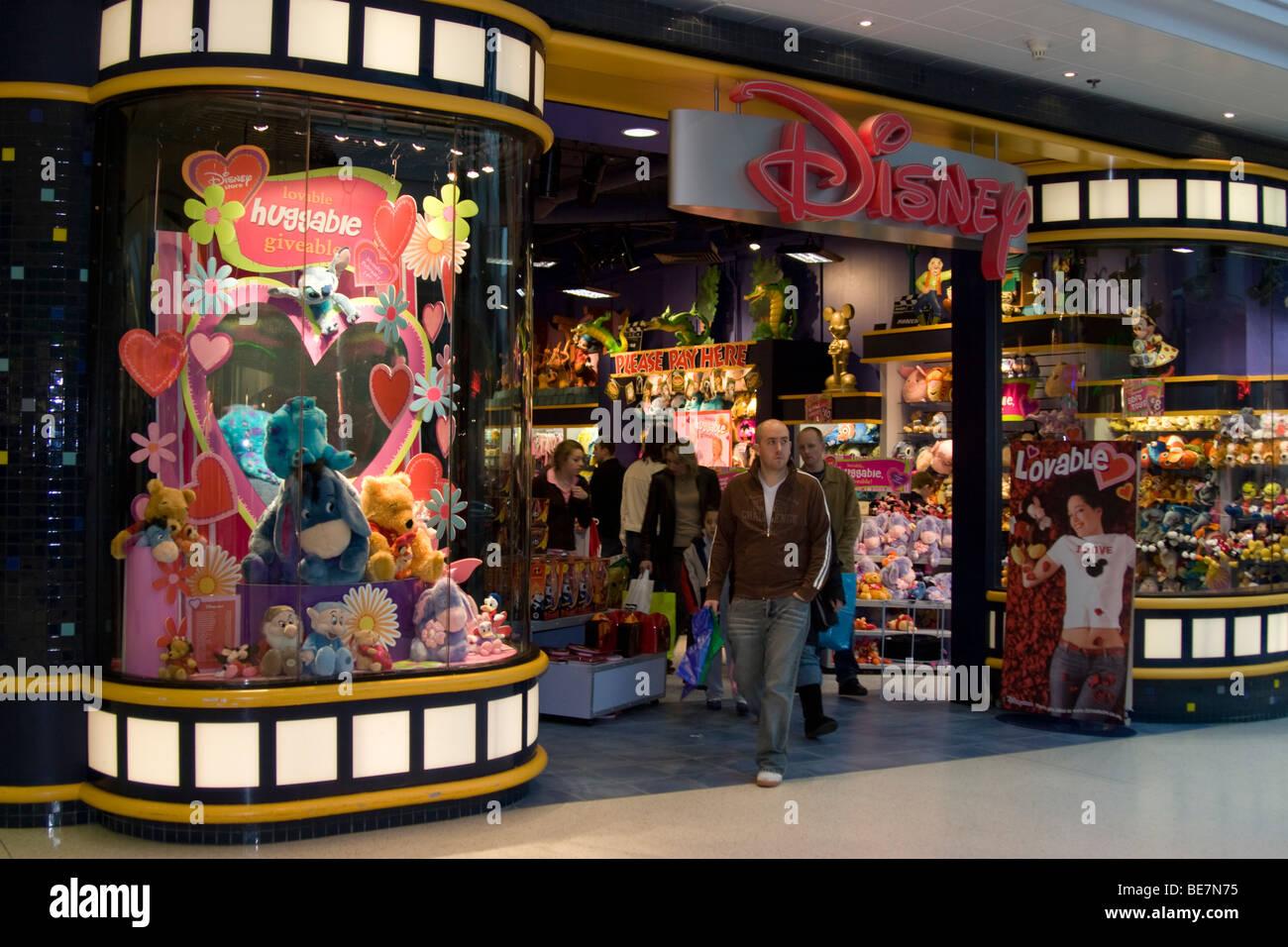 Disney Store Milton Keynes Buckinghamshire Stock Photo