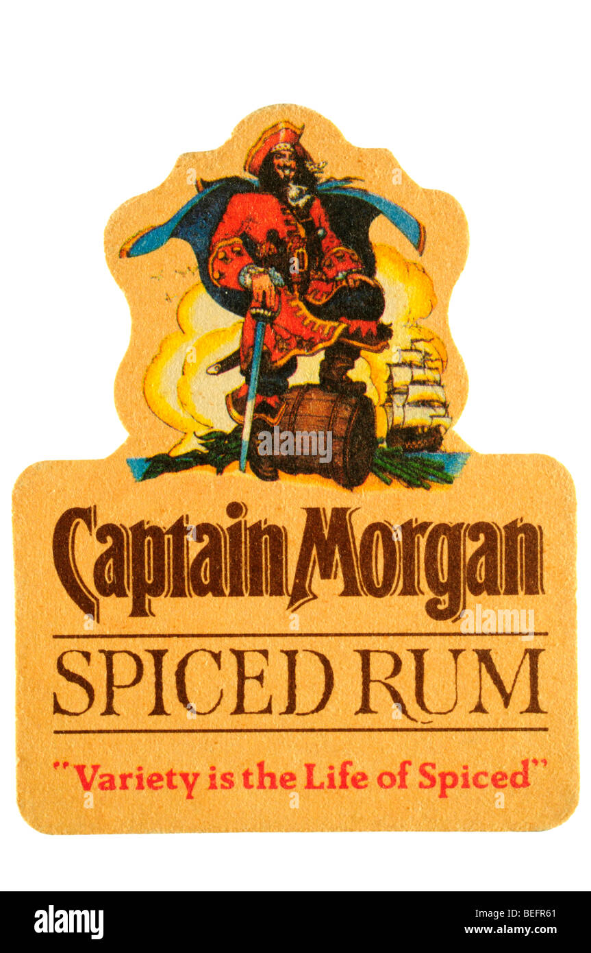 Captain Morgan Spiced Rum Variety Is The Life Of Spiced